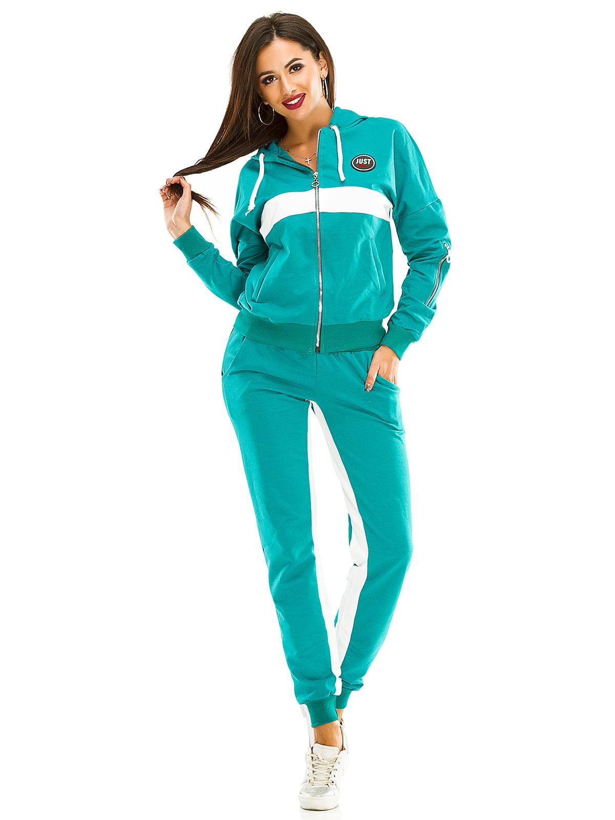 Костюм спортивный: толстовка и брюки | 4534844