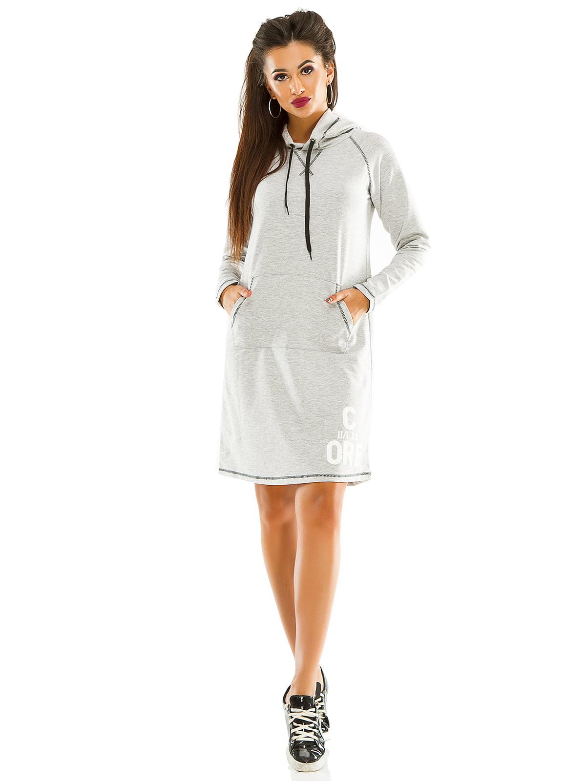 Платье серое | 4534902