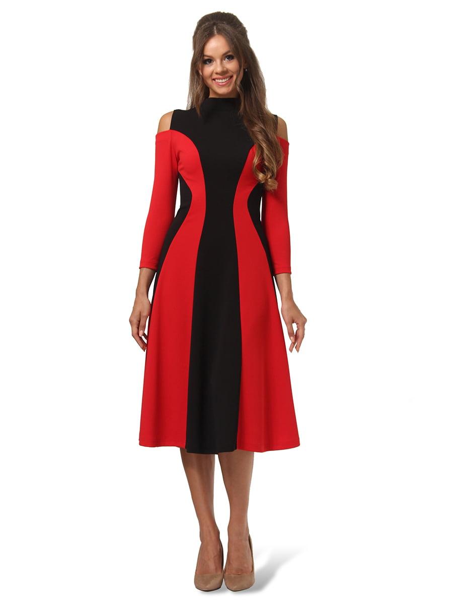 Платье двухцветное | 4535691 | фото 2