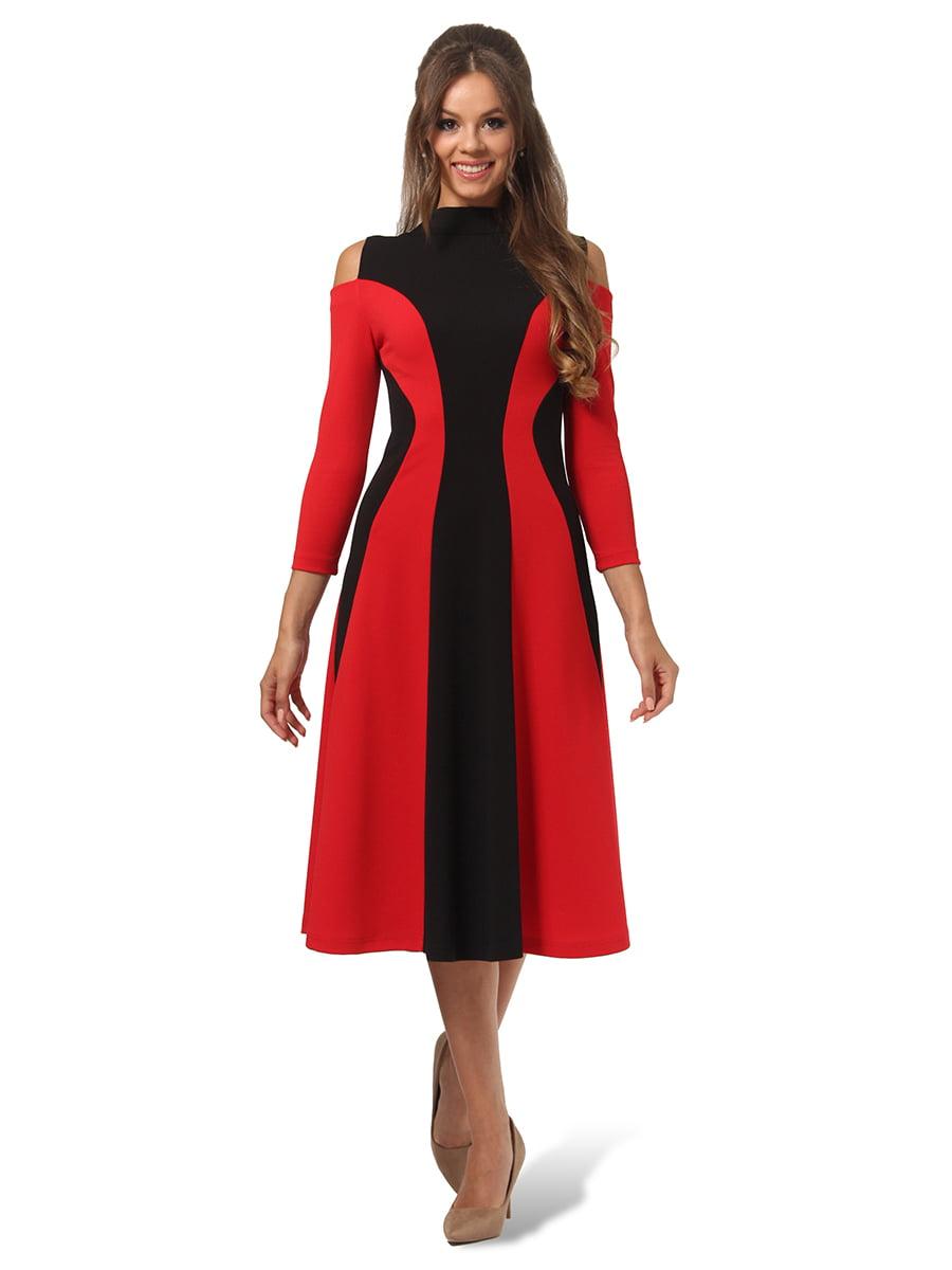 Платье двухцветное | 4535691 | фото 3
