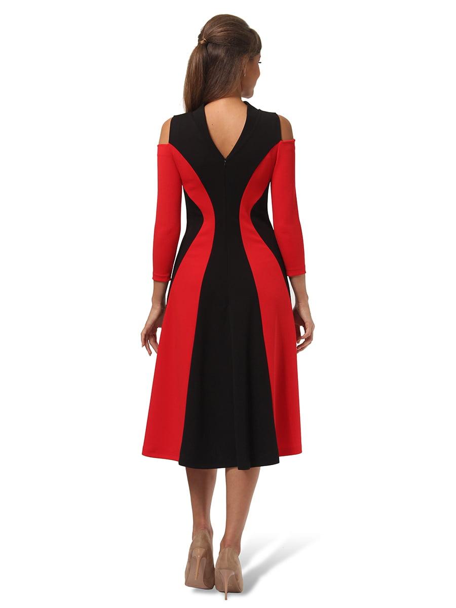 Платье двухцветное | 4535691 | фото 4