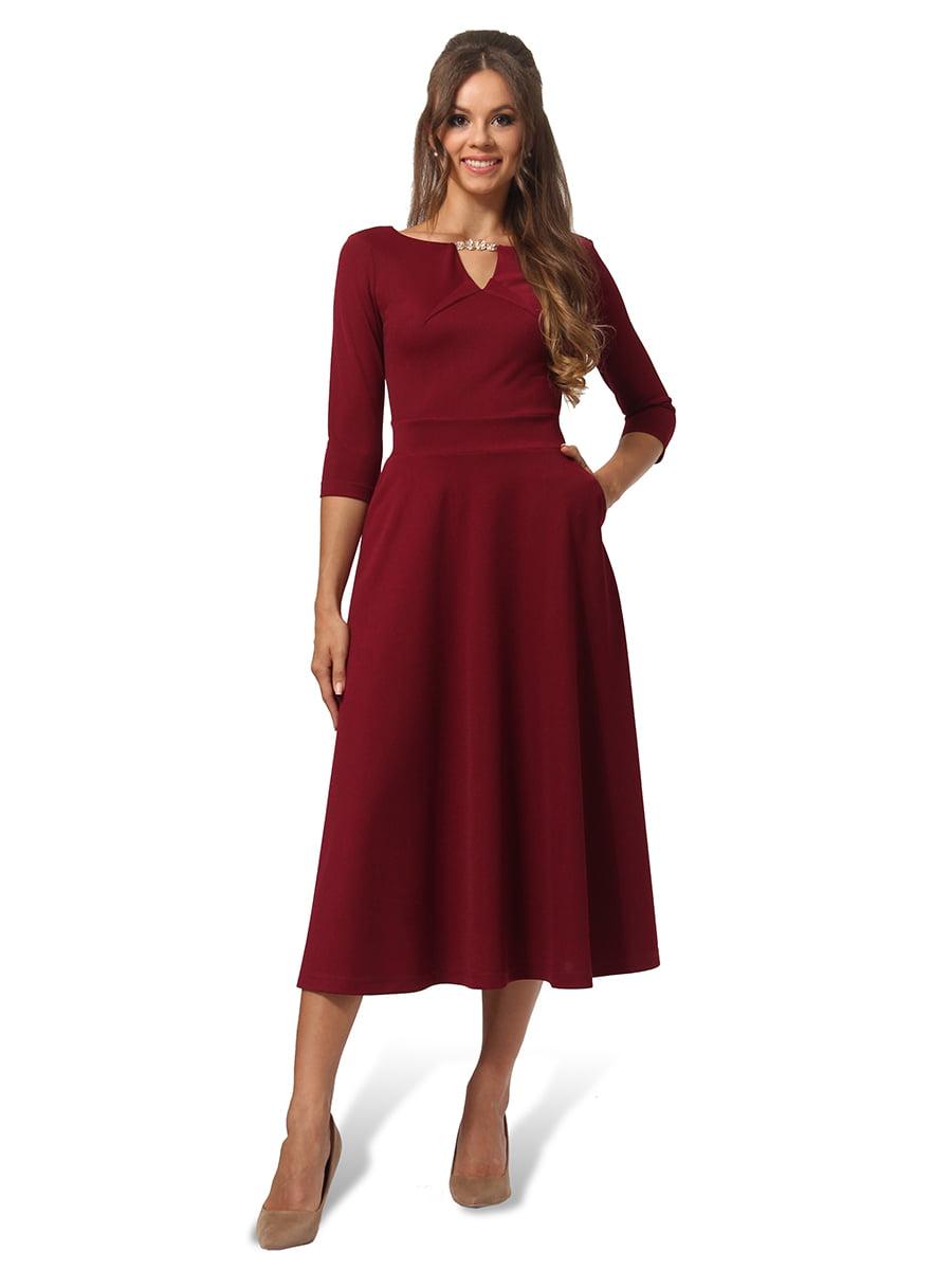 Сукня бордова | 4535715