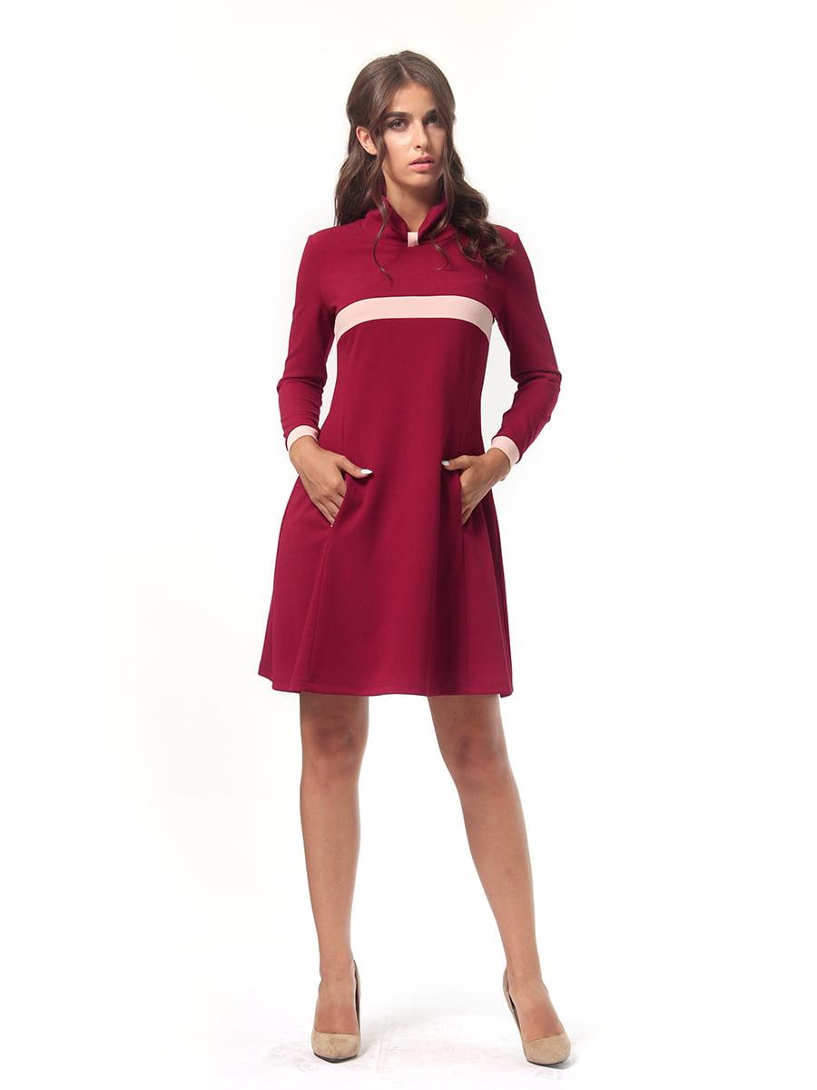 Платье бордовое   4518878   фото 2