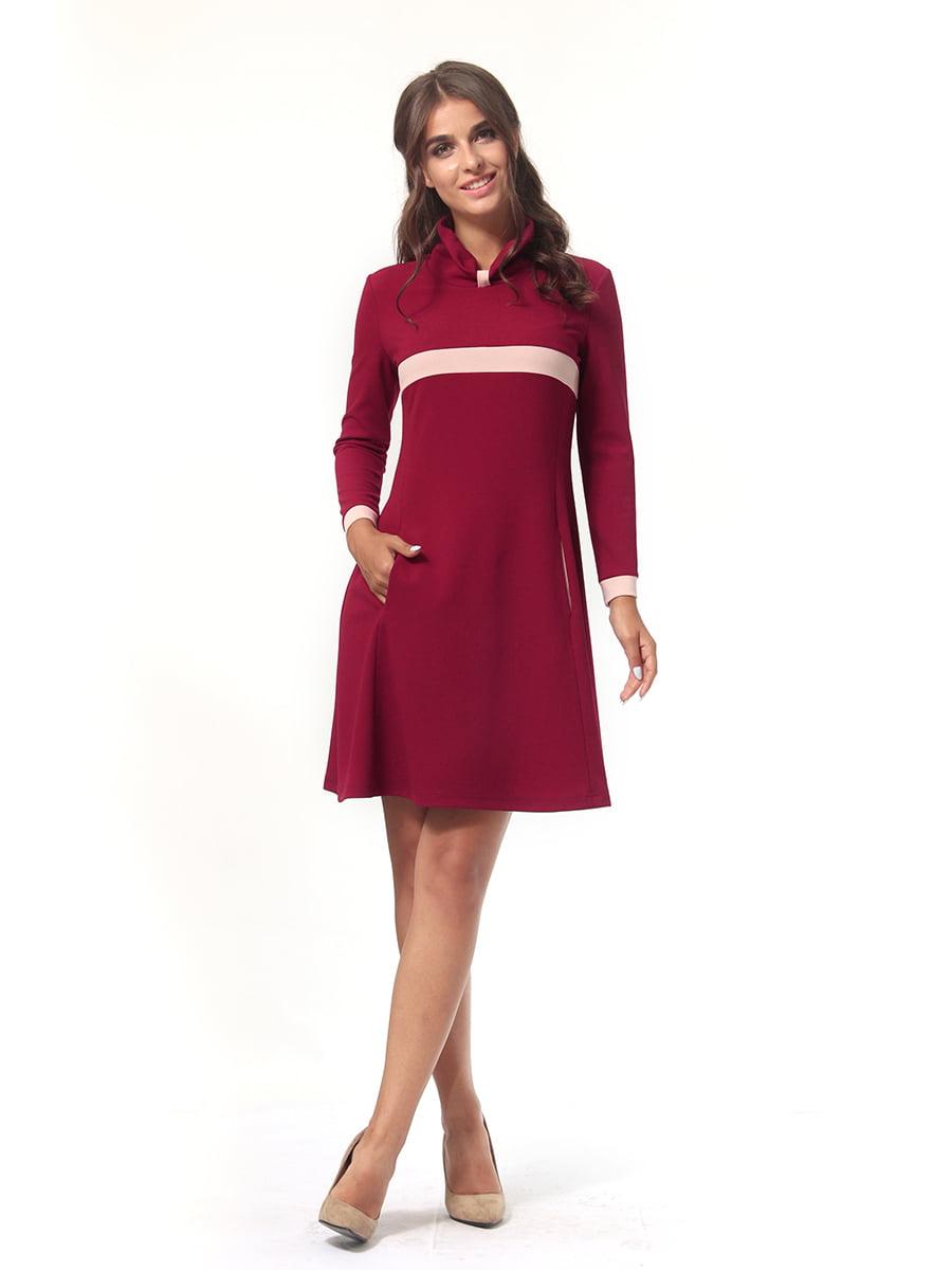 Платье бордовое   4518878   фото 3