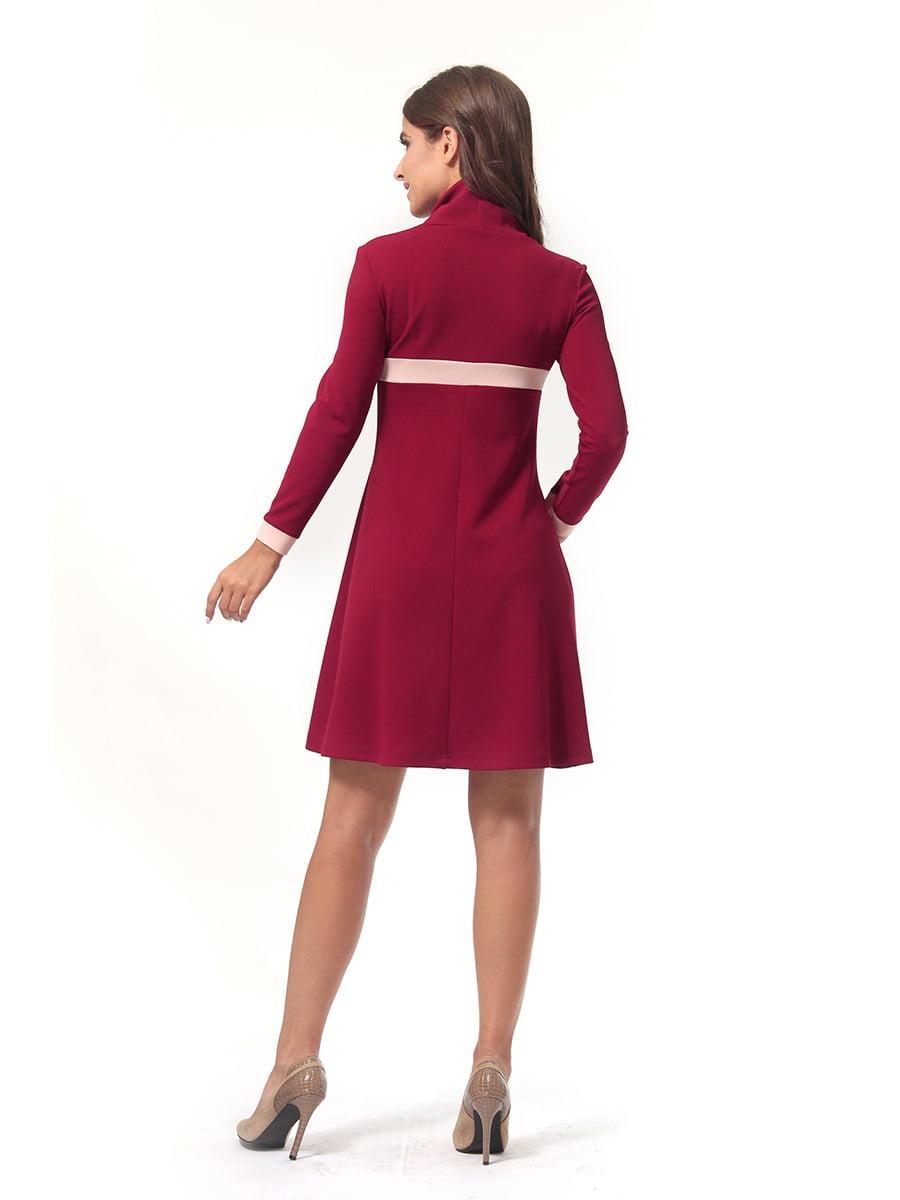 Платье бордовое   4518878   фото 5