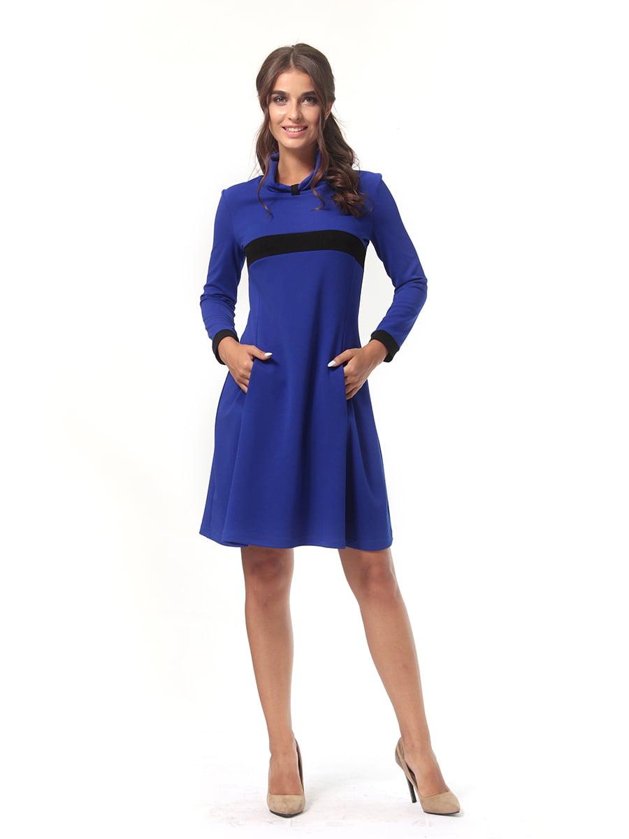 Платье цвета электрик | 4518879