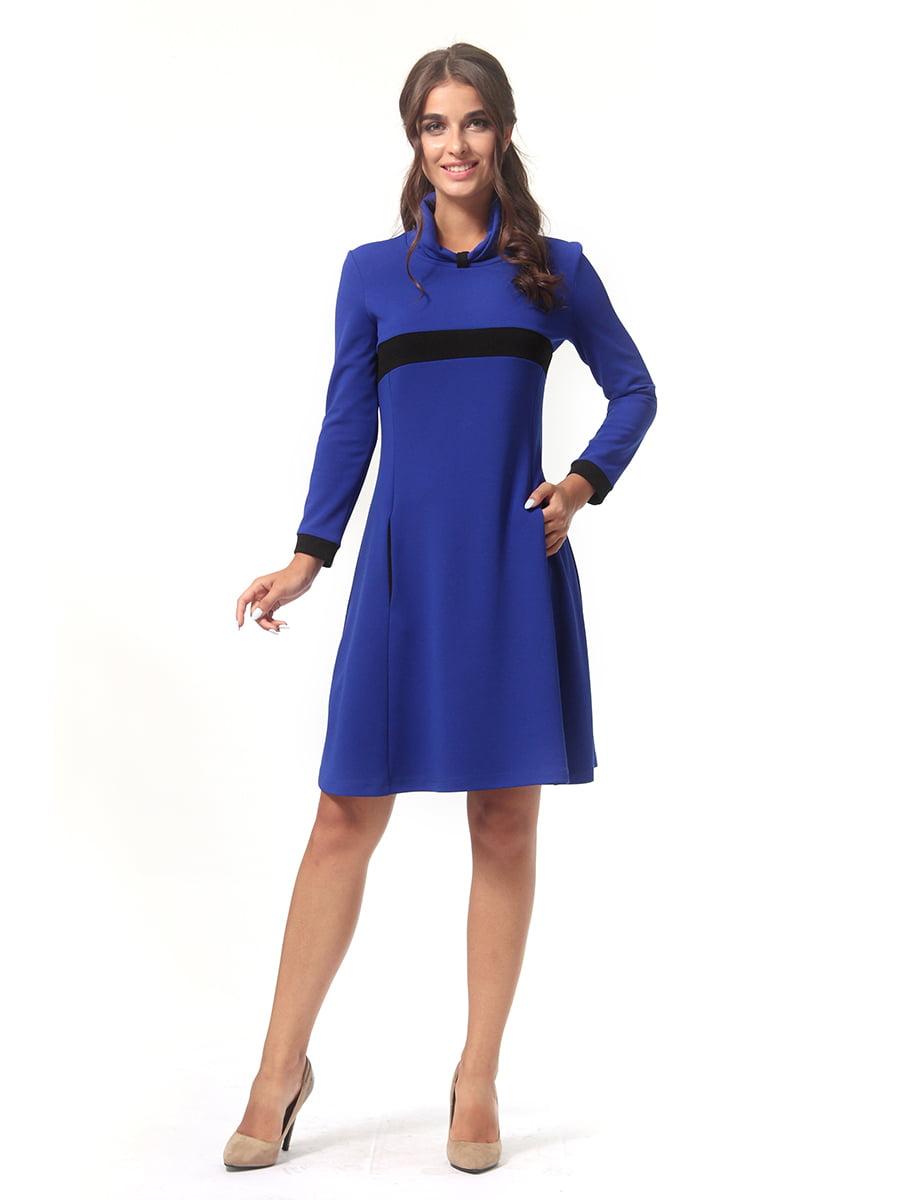 Платье цвета электрик | 4518879 | фото 2