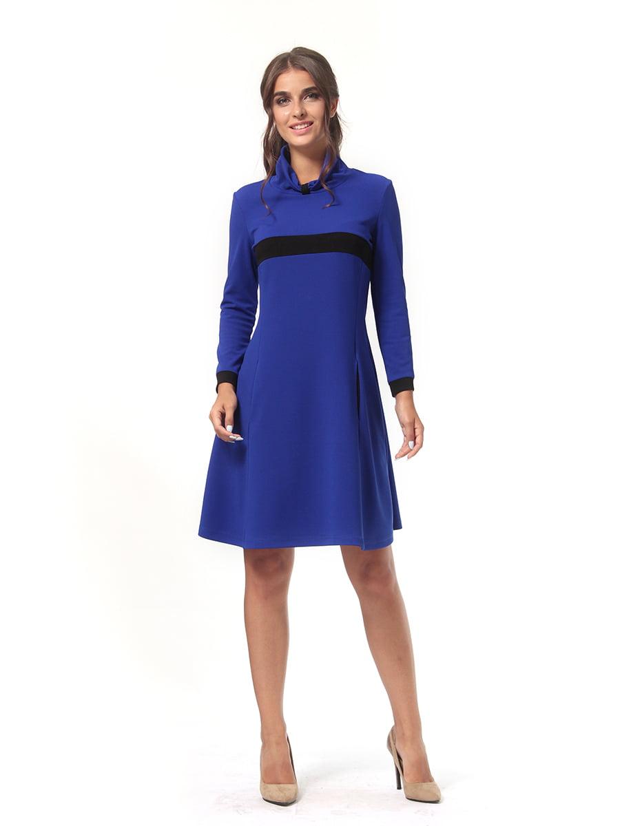 Платье цвета электрик | 4518879 | фото 4