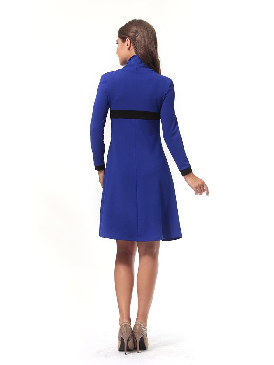 Платье цвета электрик | 4518879 | фото 5