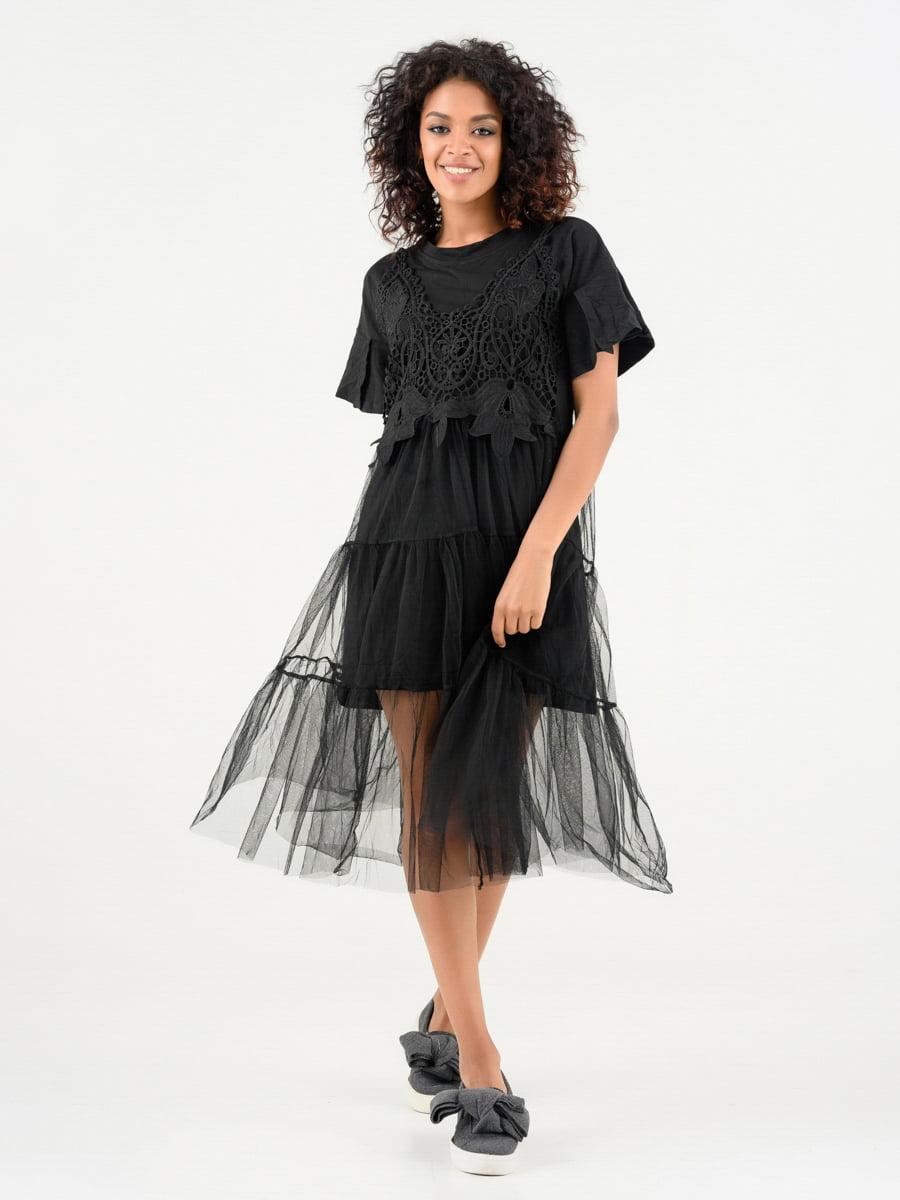 Сукня чорна | 4271903