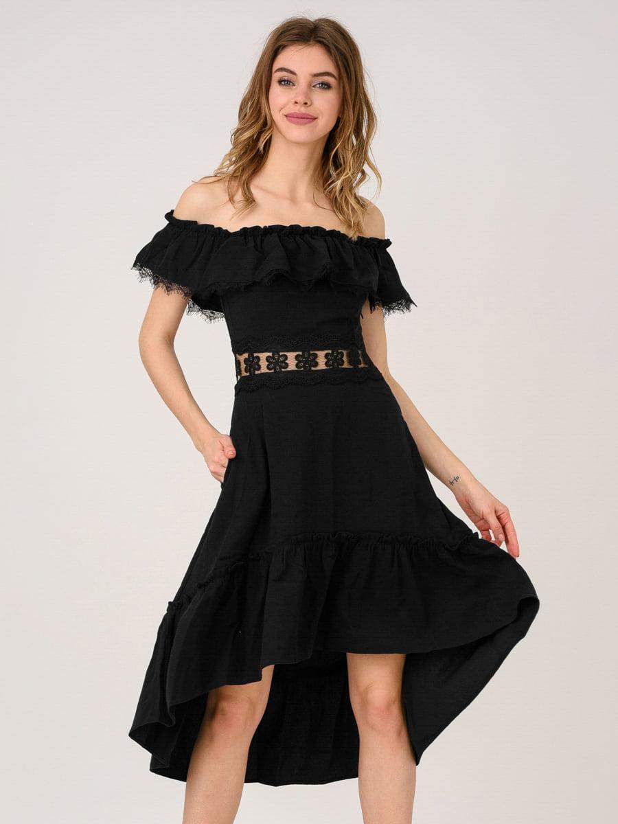 Платье черное   4271911
