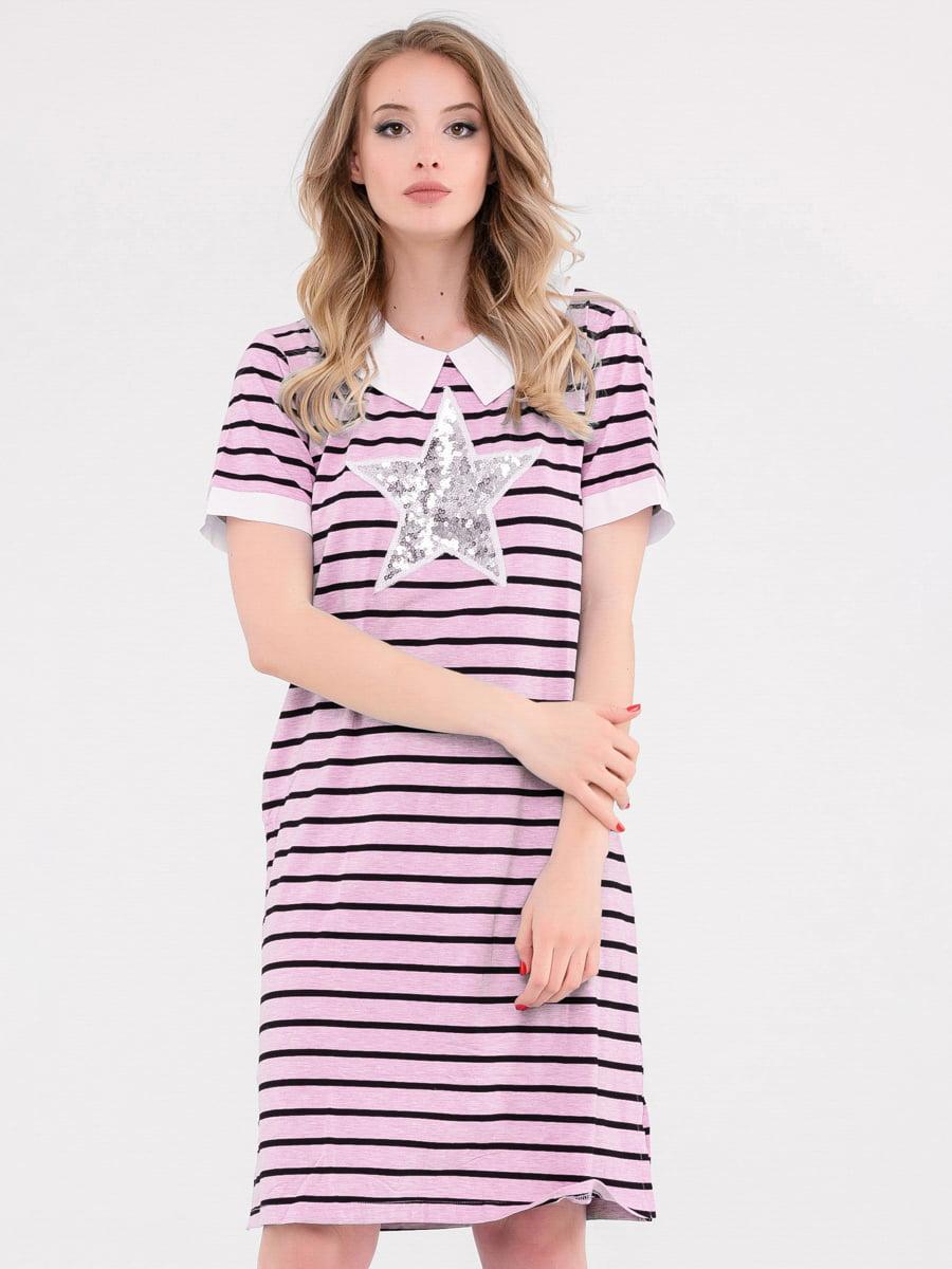 Платье в полоску | 4272071