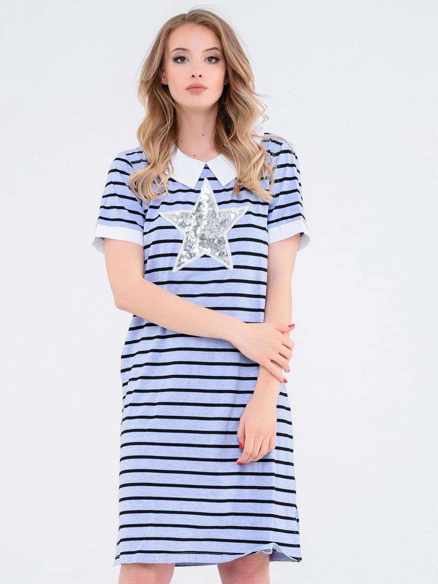 Платье в полоску | 4272072