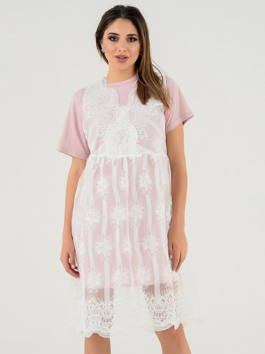 Платье сиреневое   4272128