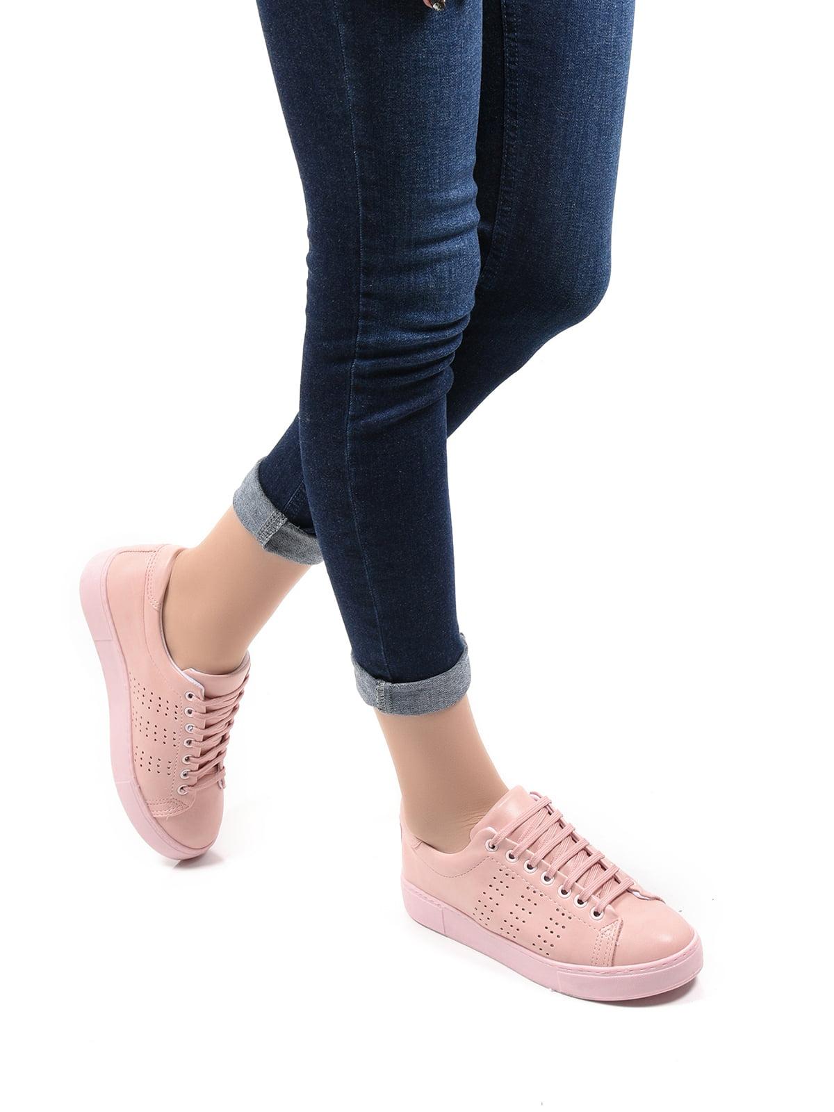 Кросівки пудрового кольору   4536911
