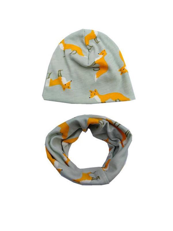 Комплект: шапка и снуд | 4538522