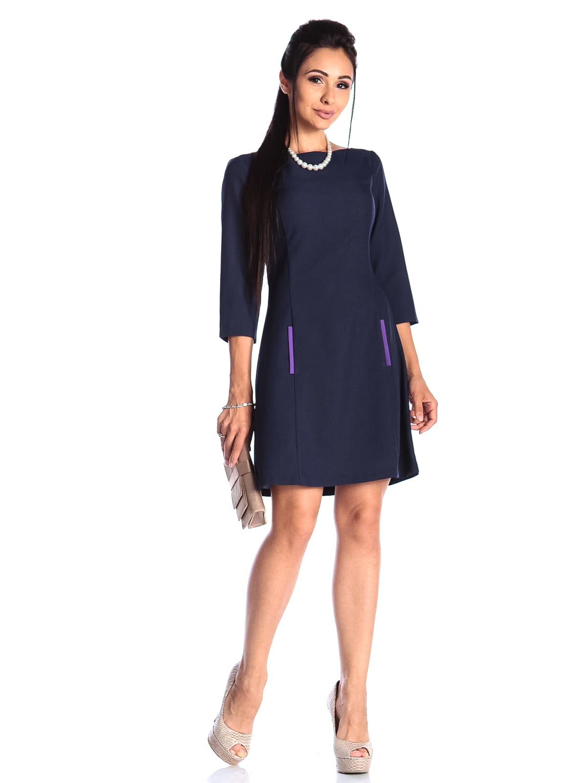 Сукня темно-синя | 4489913