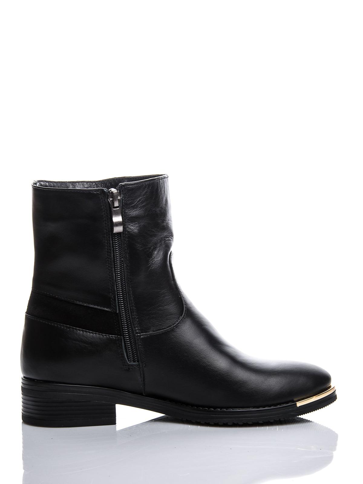 Ботинки черные с декором | 1921777 | фото 3