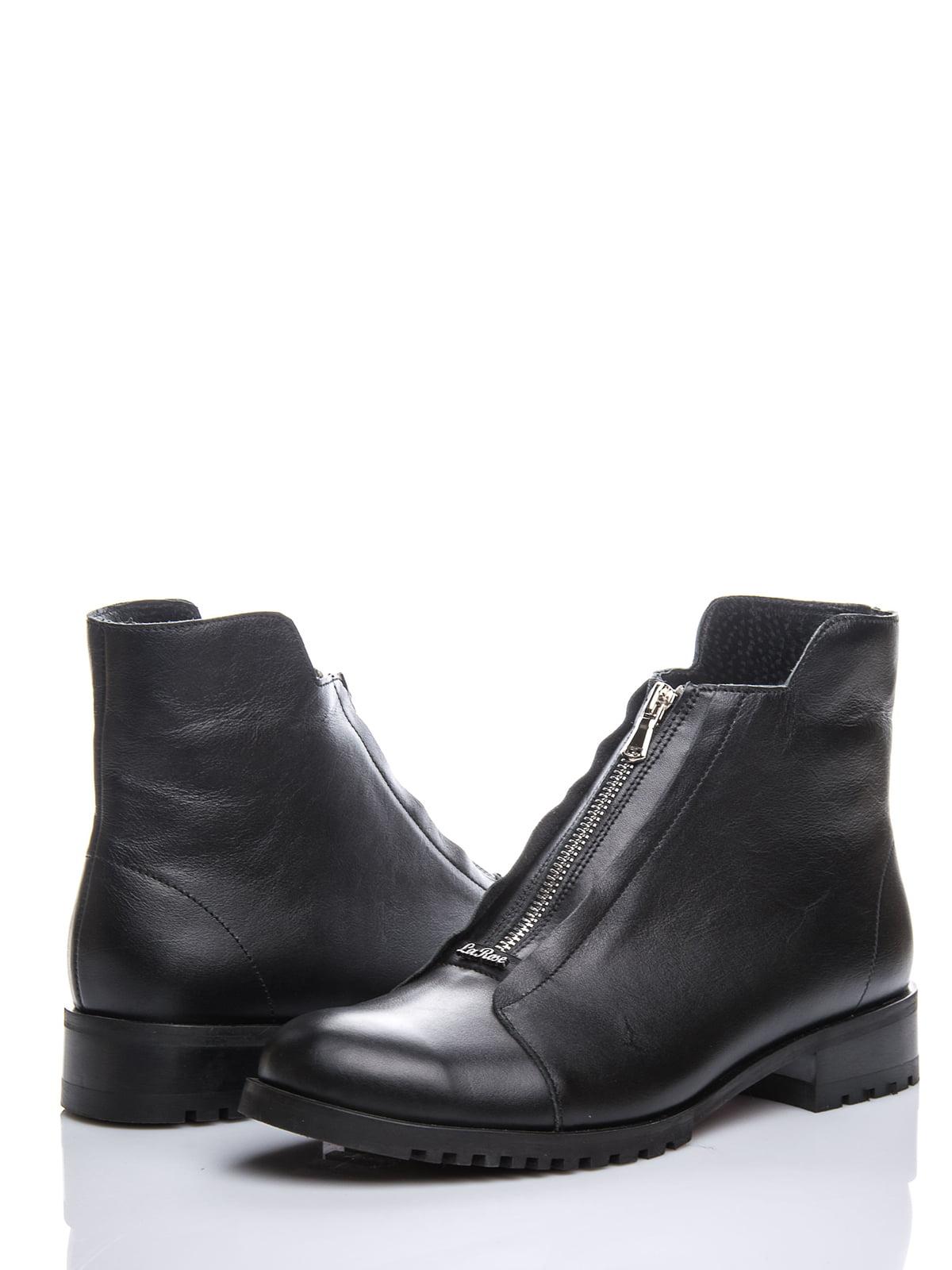 Ботинки черные | 3656801 | фото 2