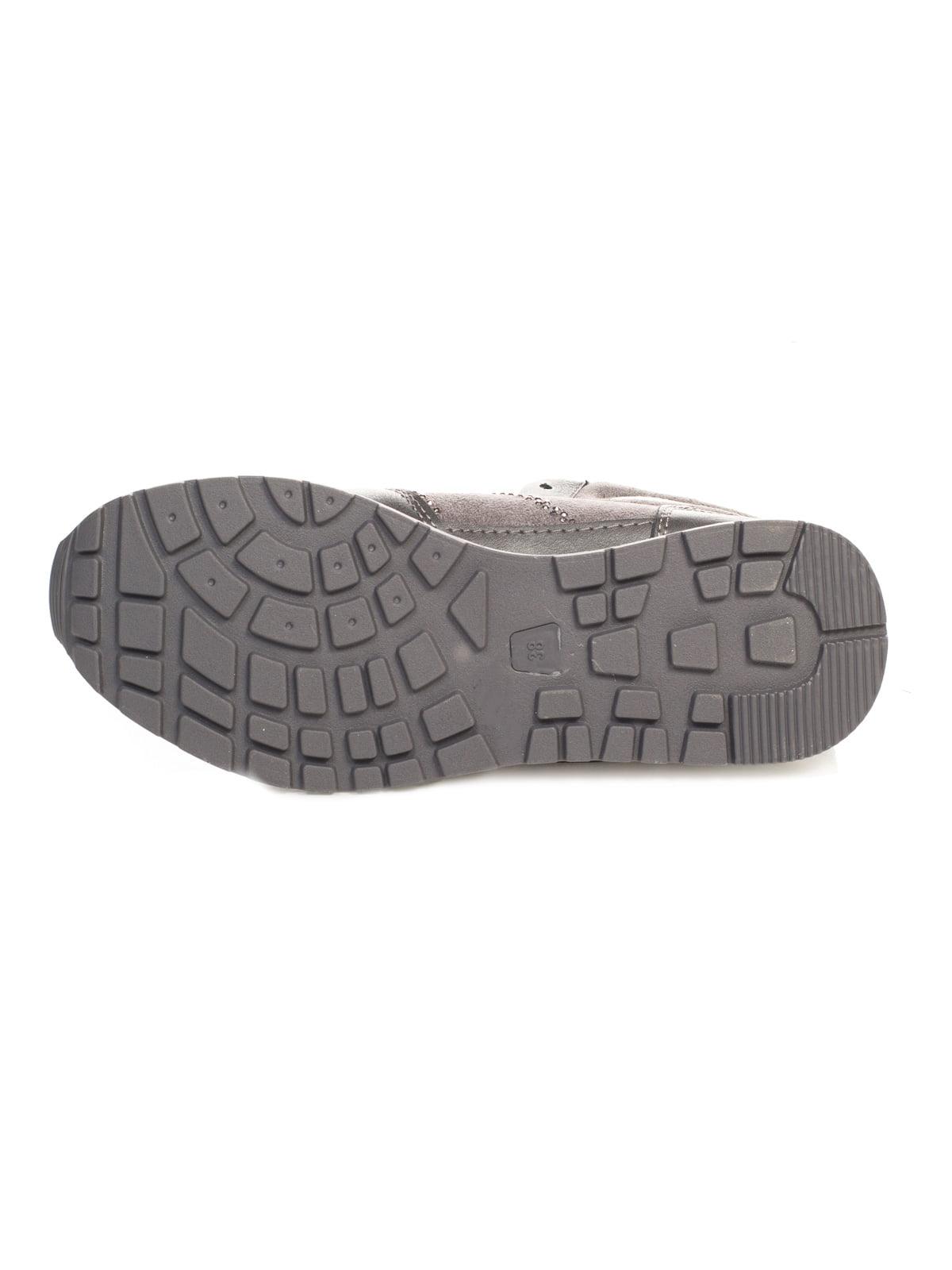 Кроссовки серые | 4466231 | фото 4