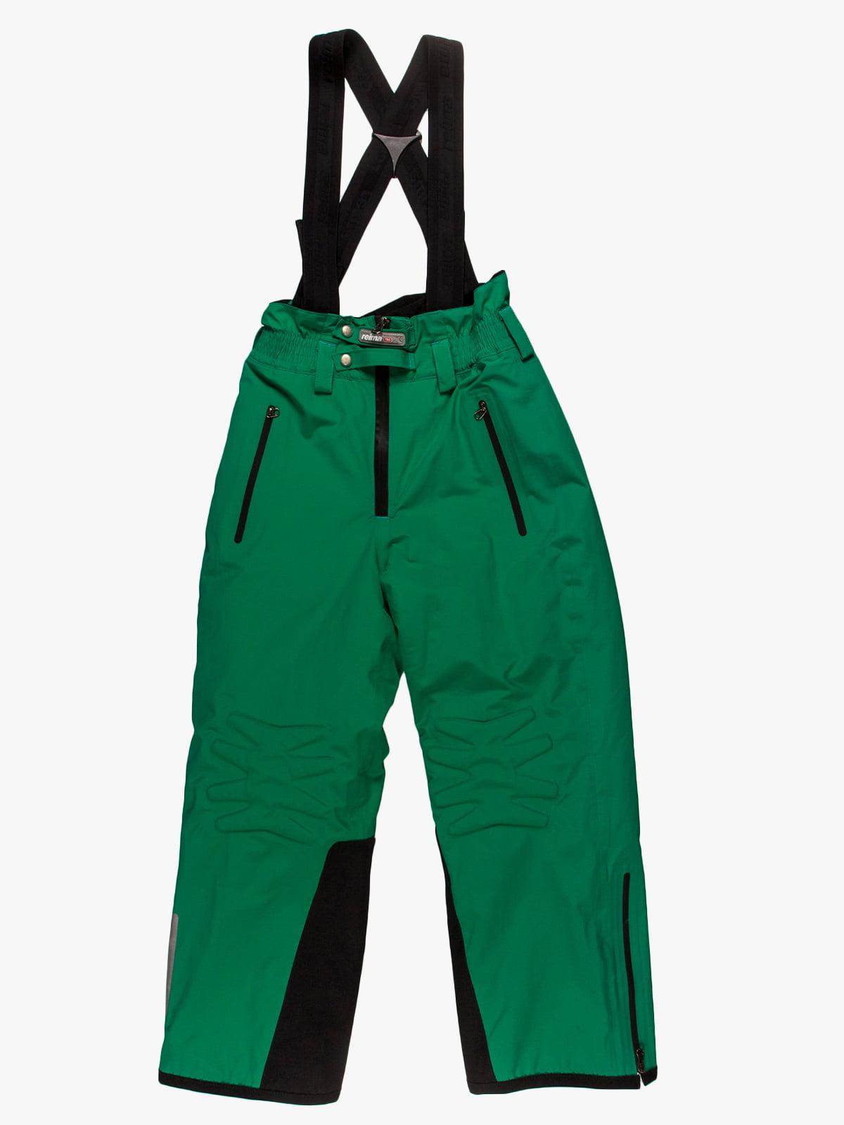 Півкомбінезон зелений | 34870