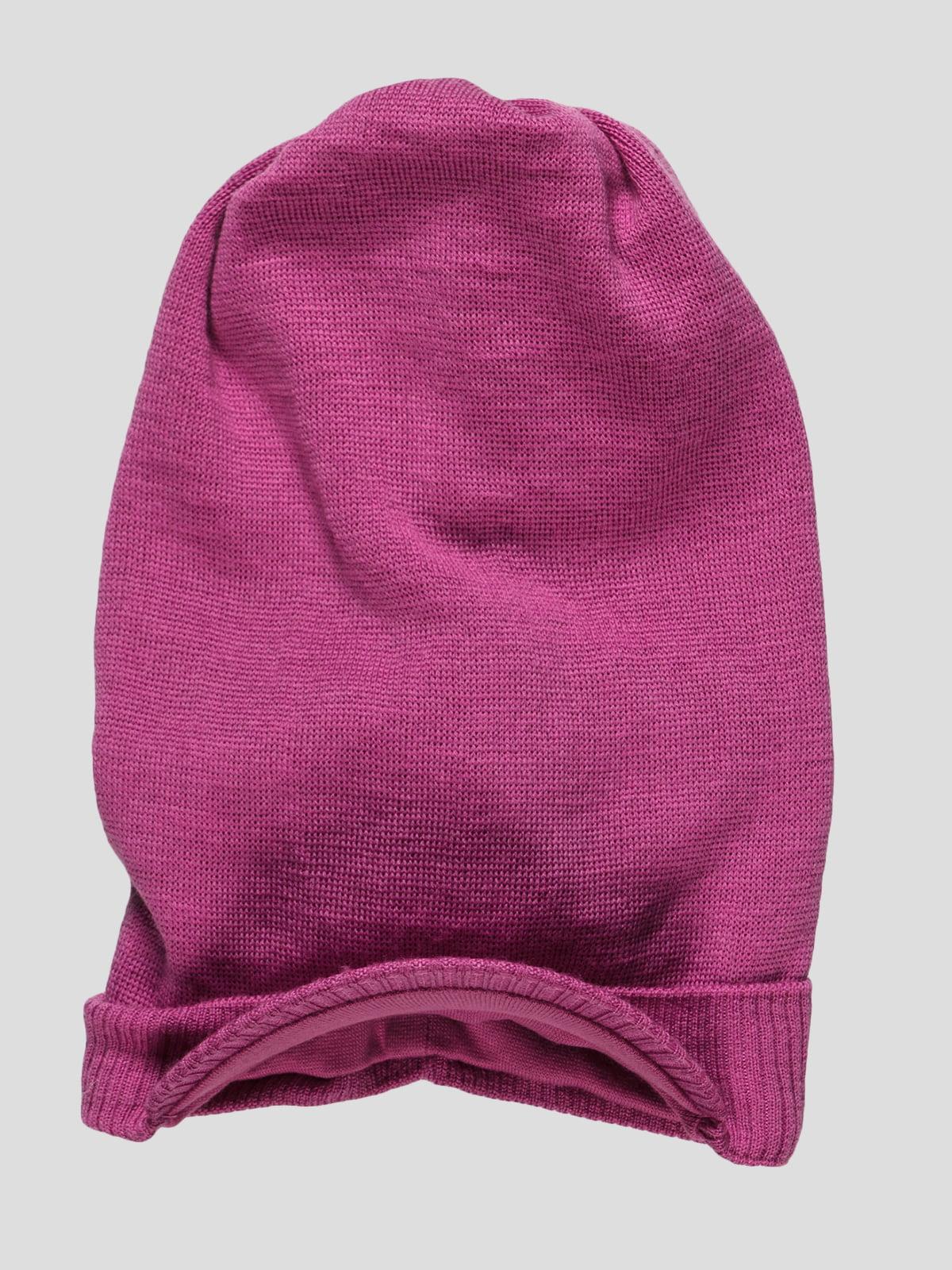 Шапка рожева   34875