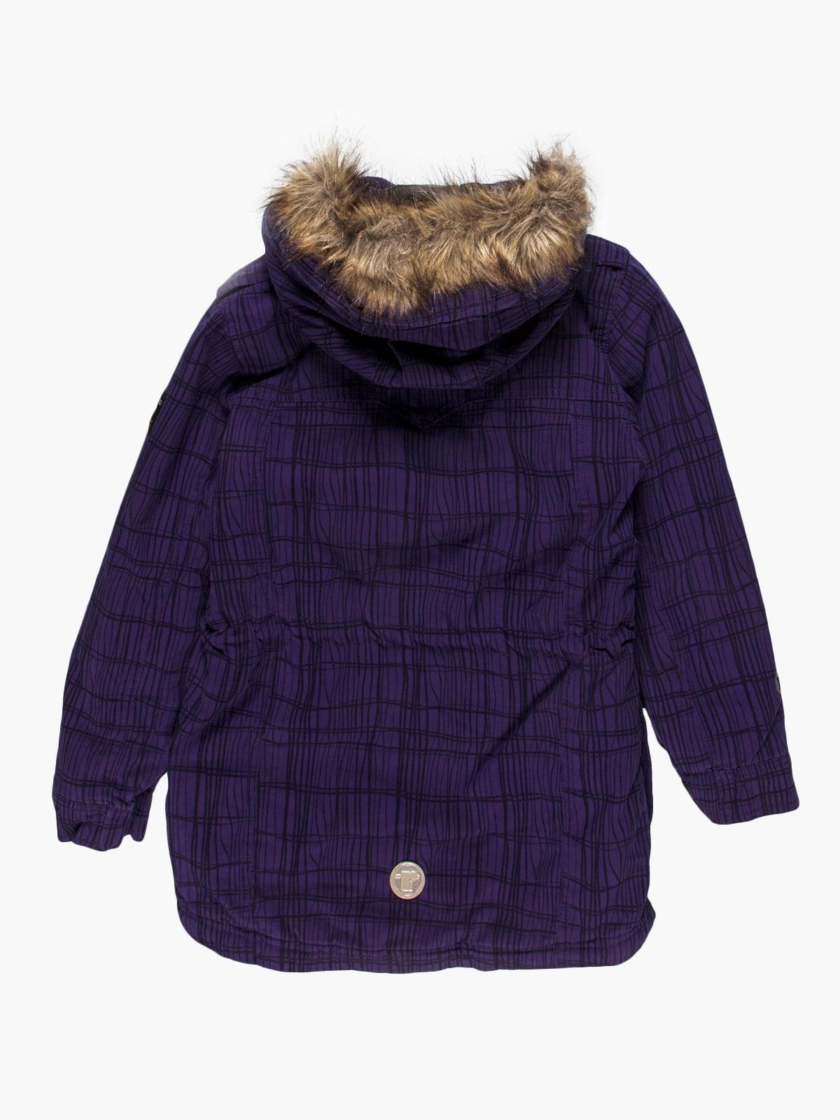 Куртка фіолетова | 4398038 | фото 2