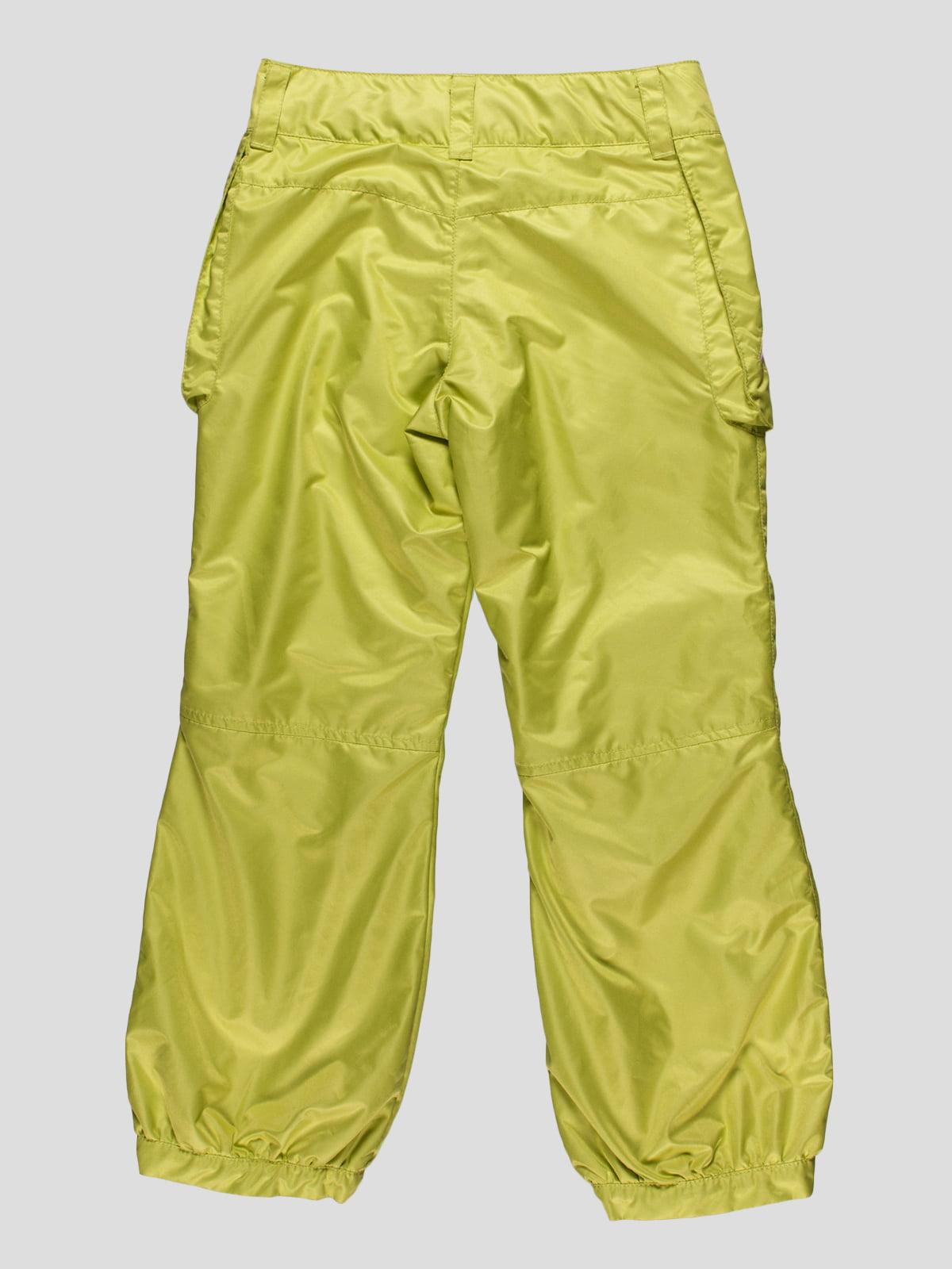 Штани лимонного кольору | 4398057 | фото 2