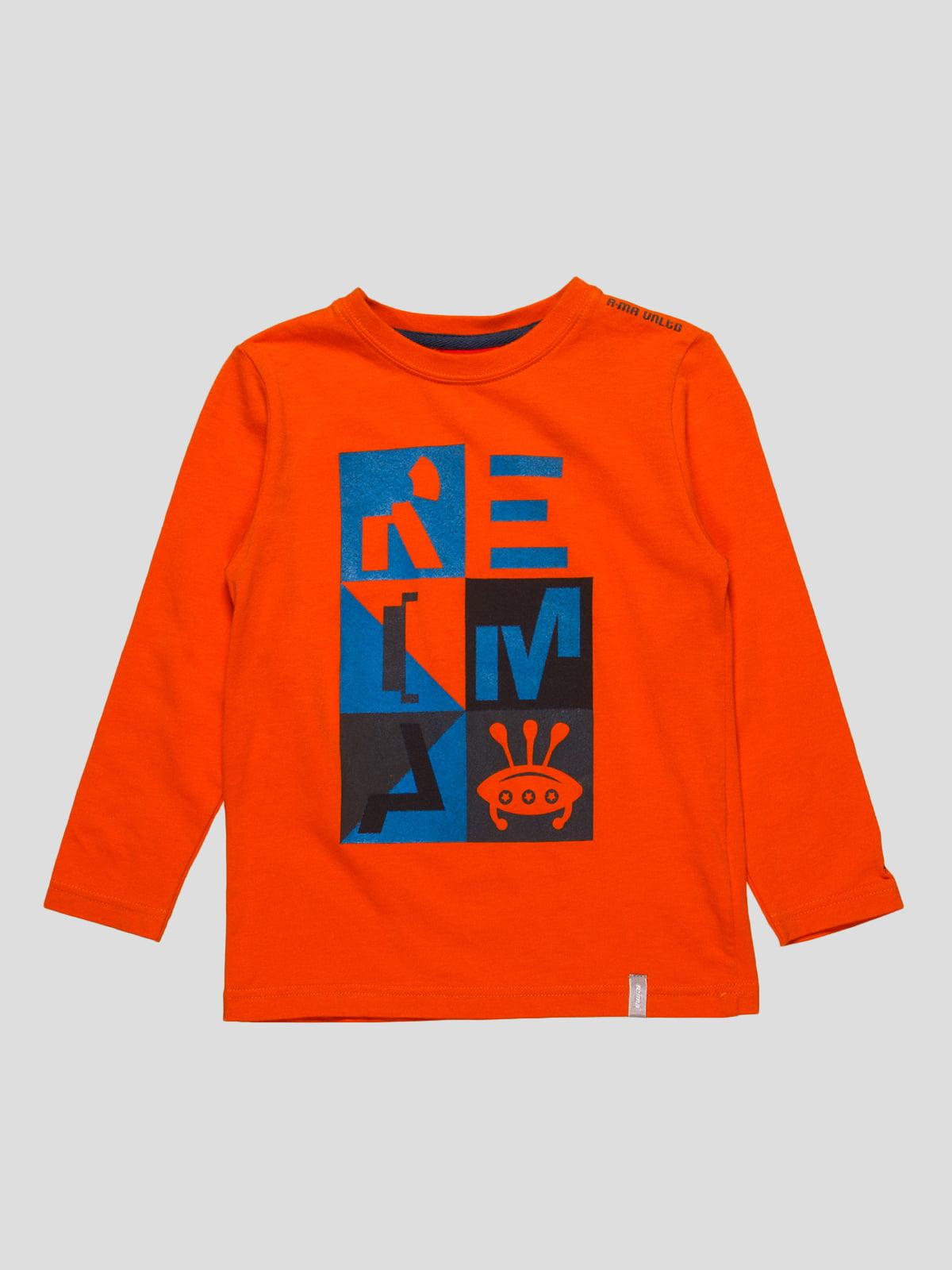 Лонгслів помаранчевий | 4398115