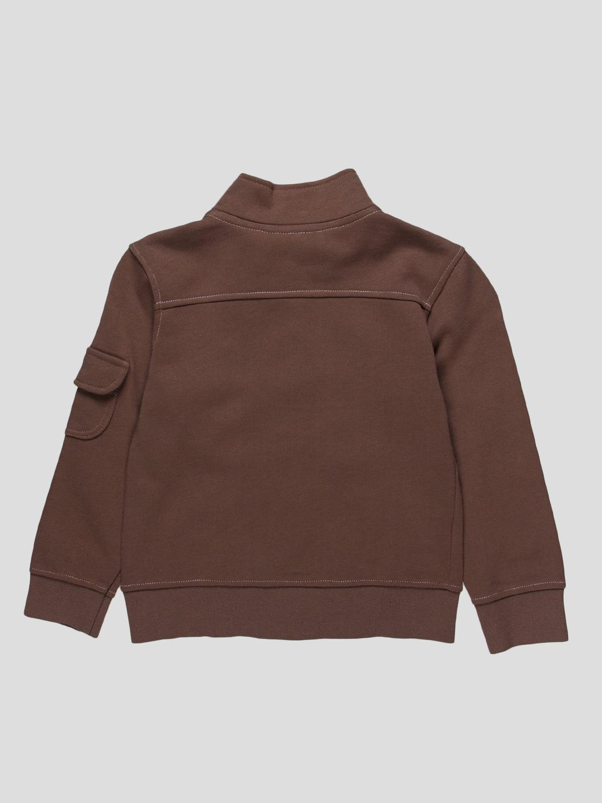 Кофта коричневая | 72810 | фото 2