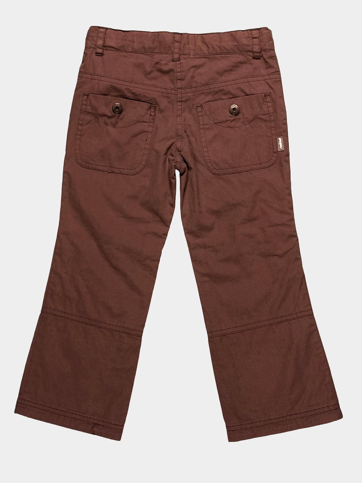 Штани коричневі | 72813 | фото 2