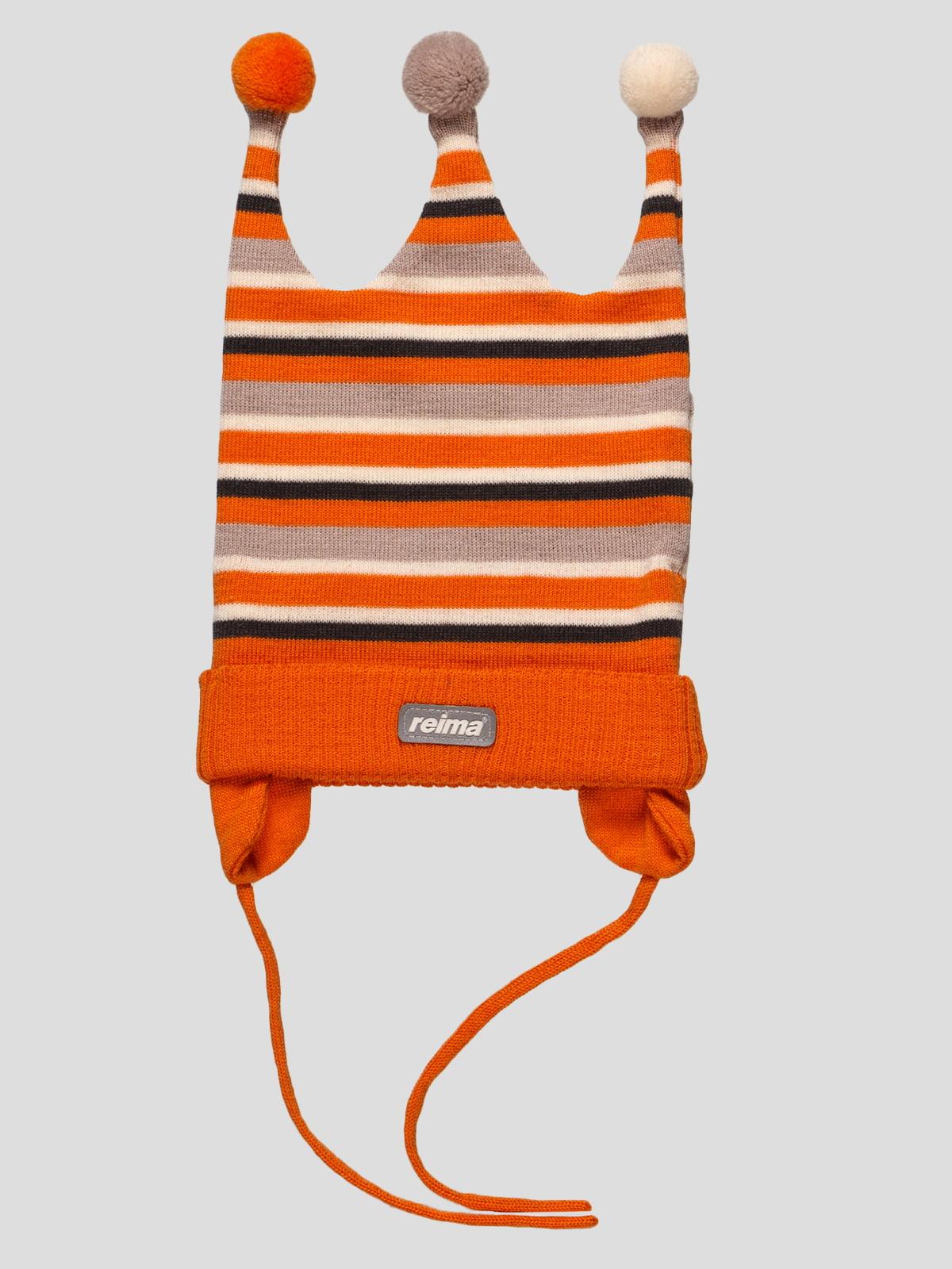 Шапка помаранчева | 35243