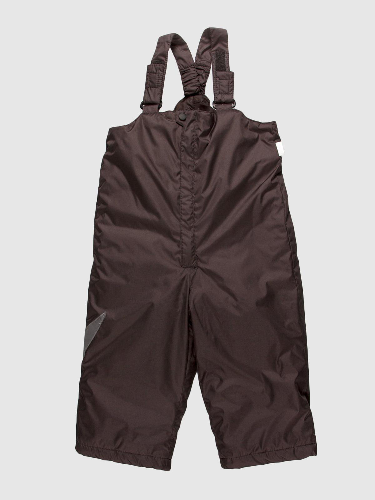Полукомбинезон темно-серый   55225