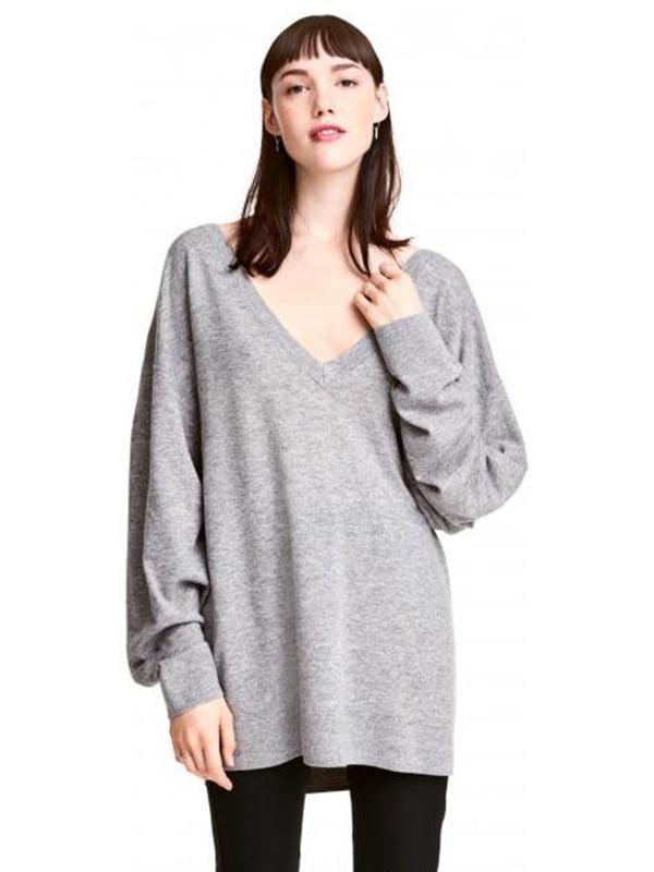 Пуловер сірий | 4544643