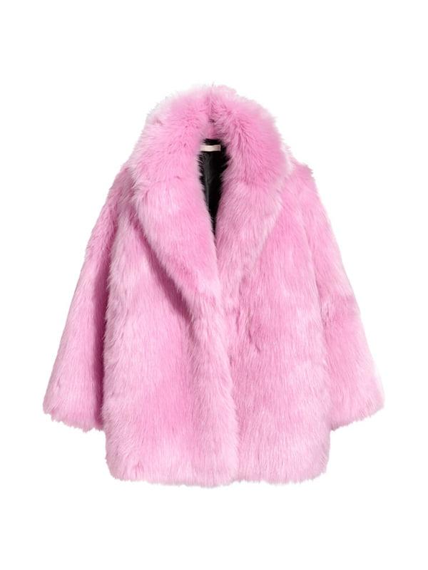 Полушубок розовый   4544662