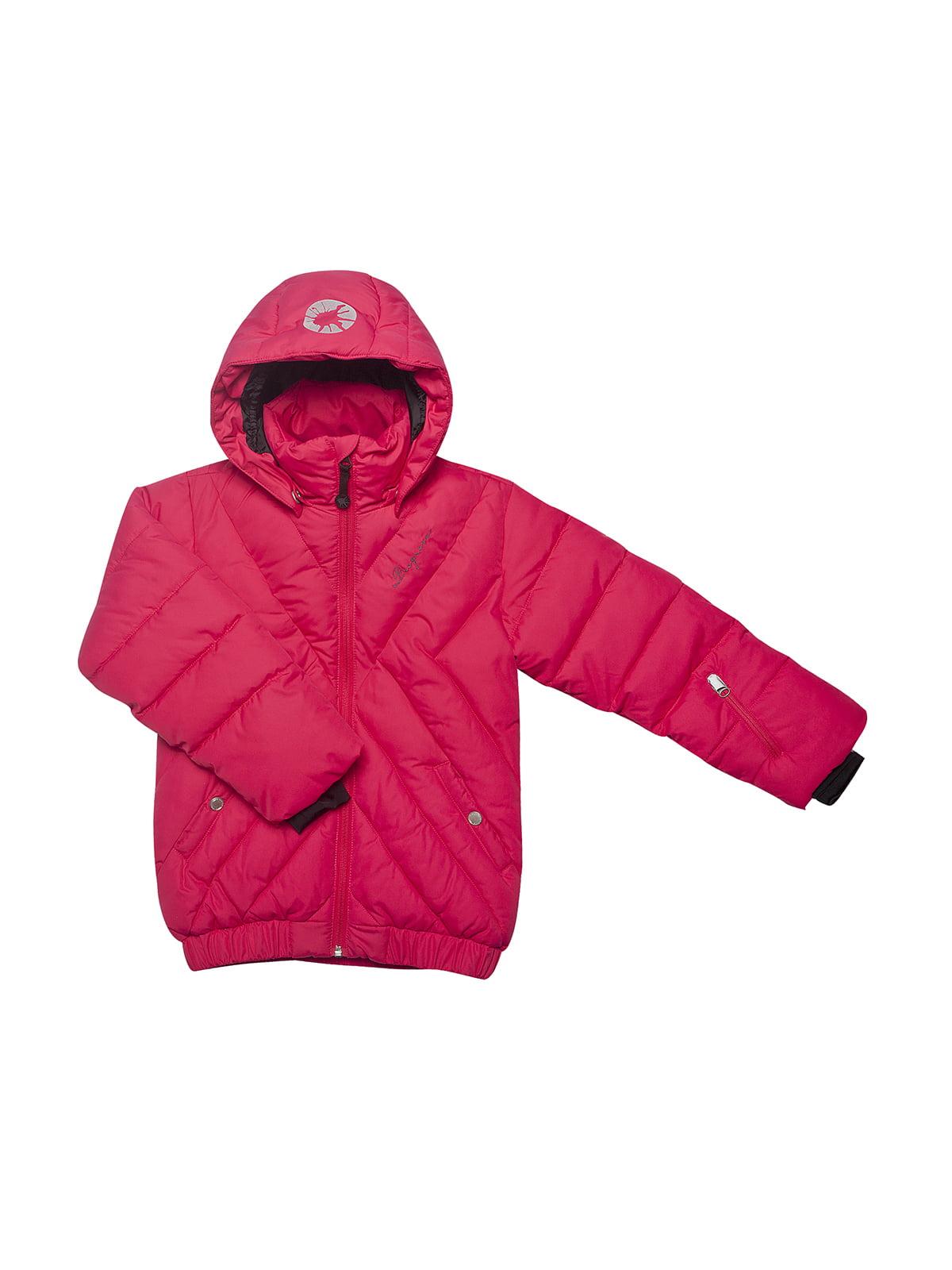 Куртка малинового кольору | 153249 | фото 2