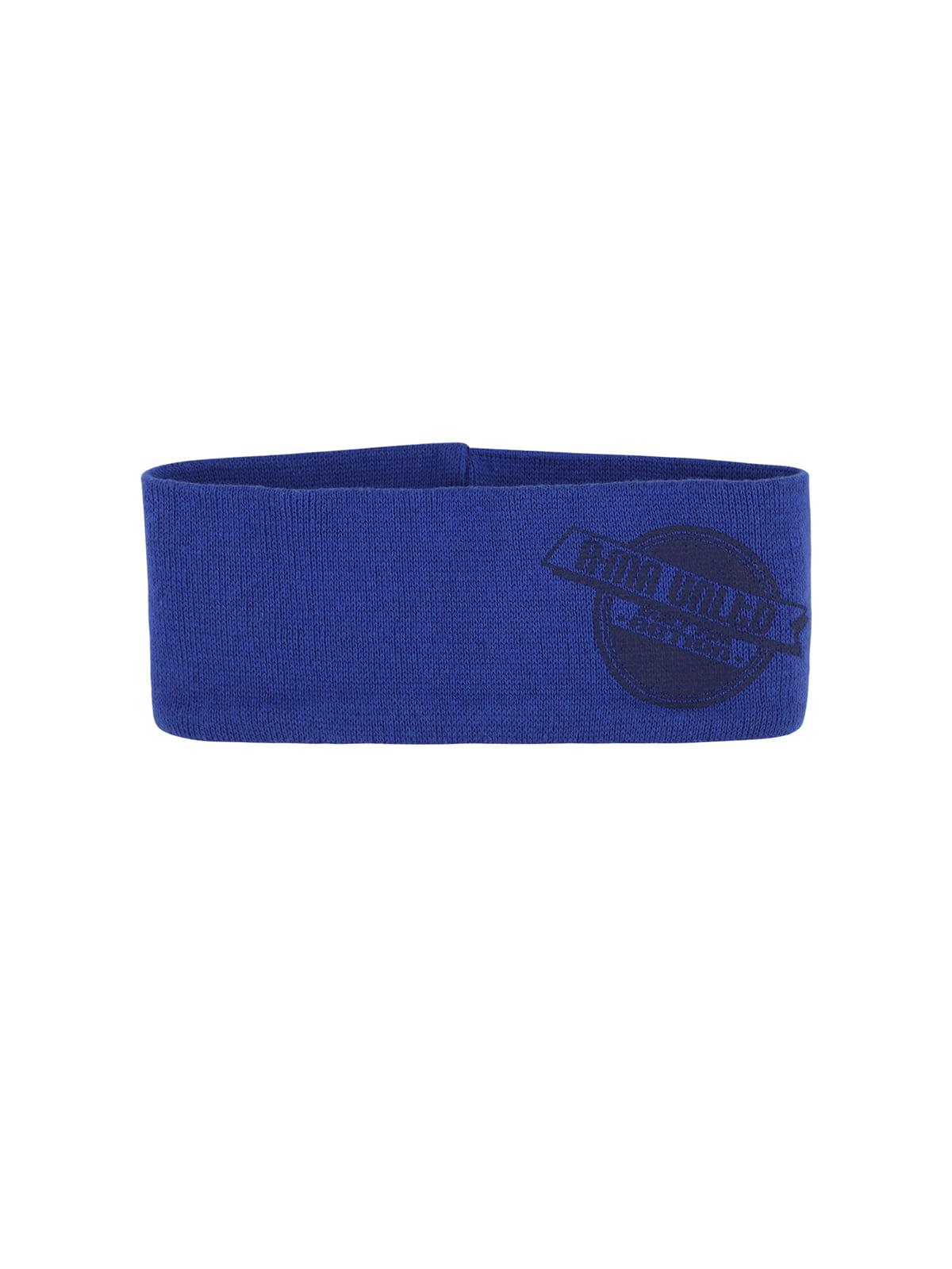 Пов'язка на голову синя | 4545947