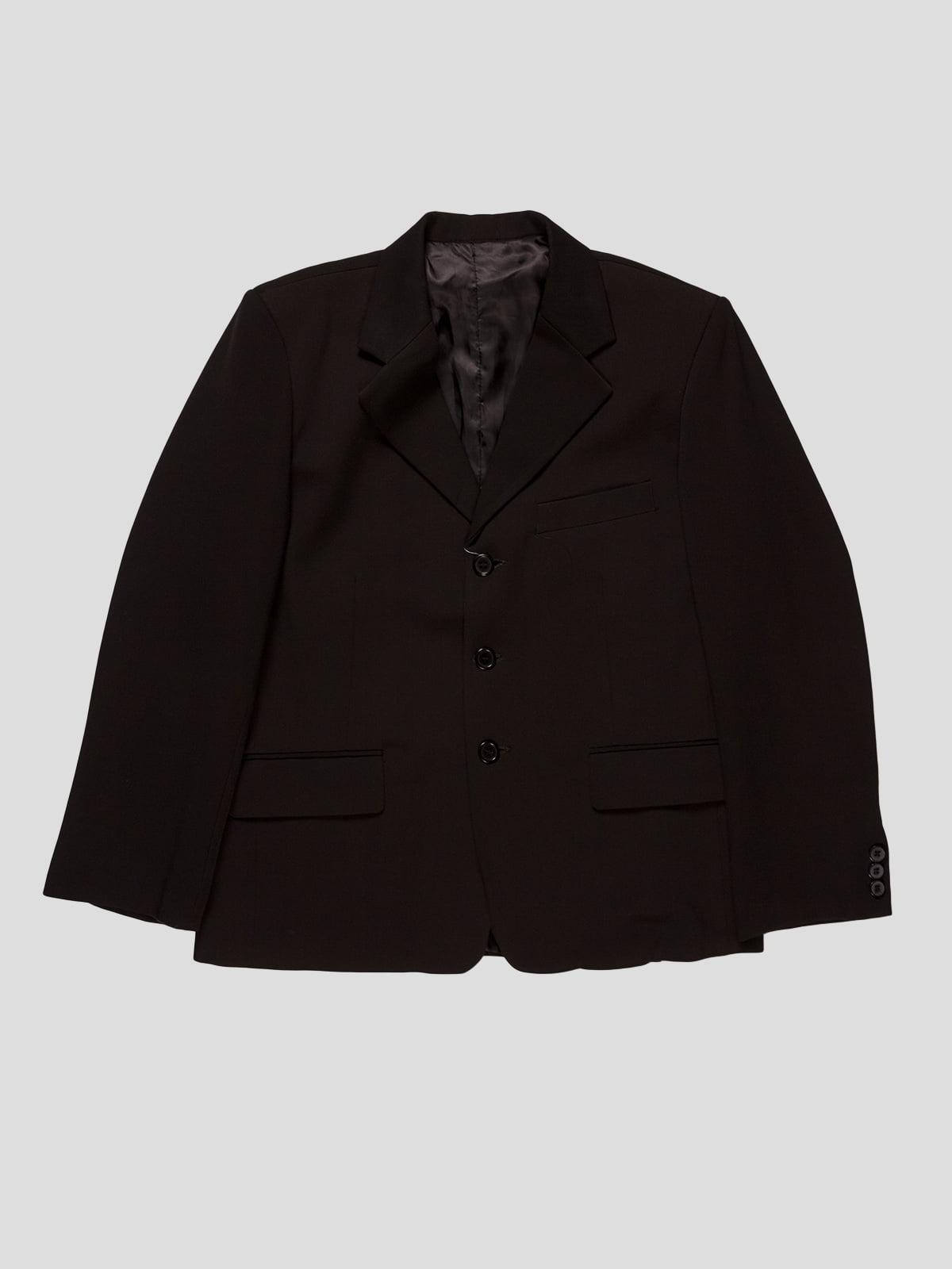 Піджак чорний | 2546943