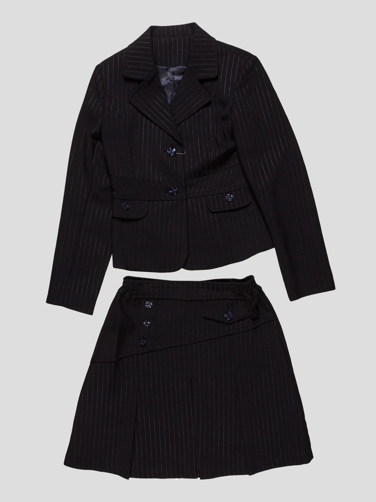 Костюм-двойка: жакет и юбка | 3501294