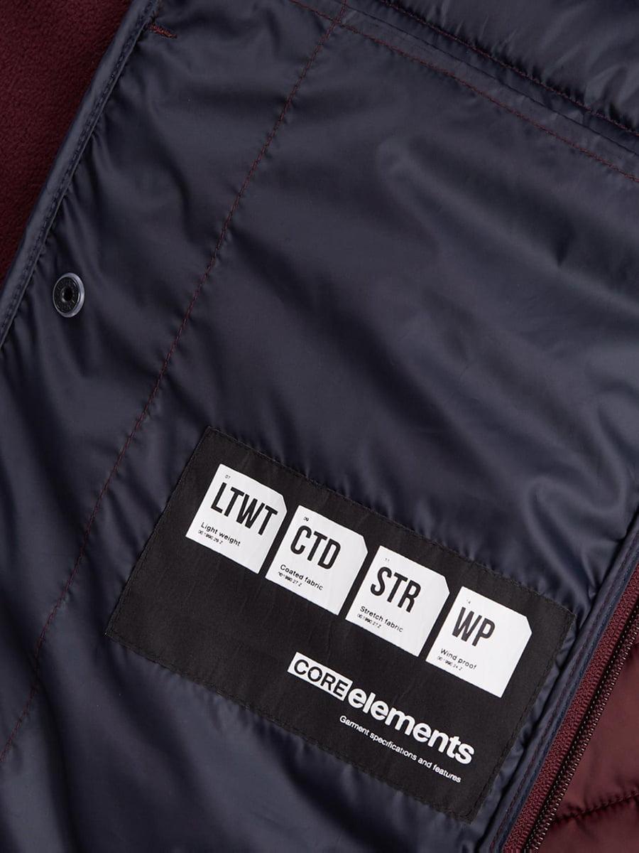 Куртка бордова   4472308   фото 2