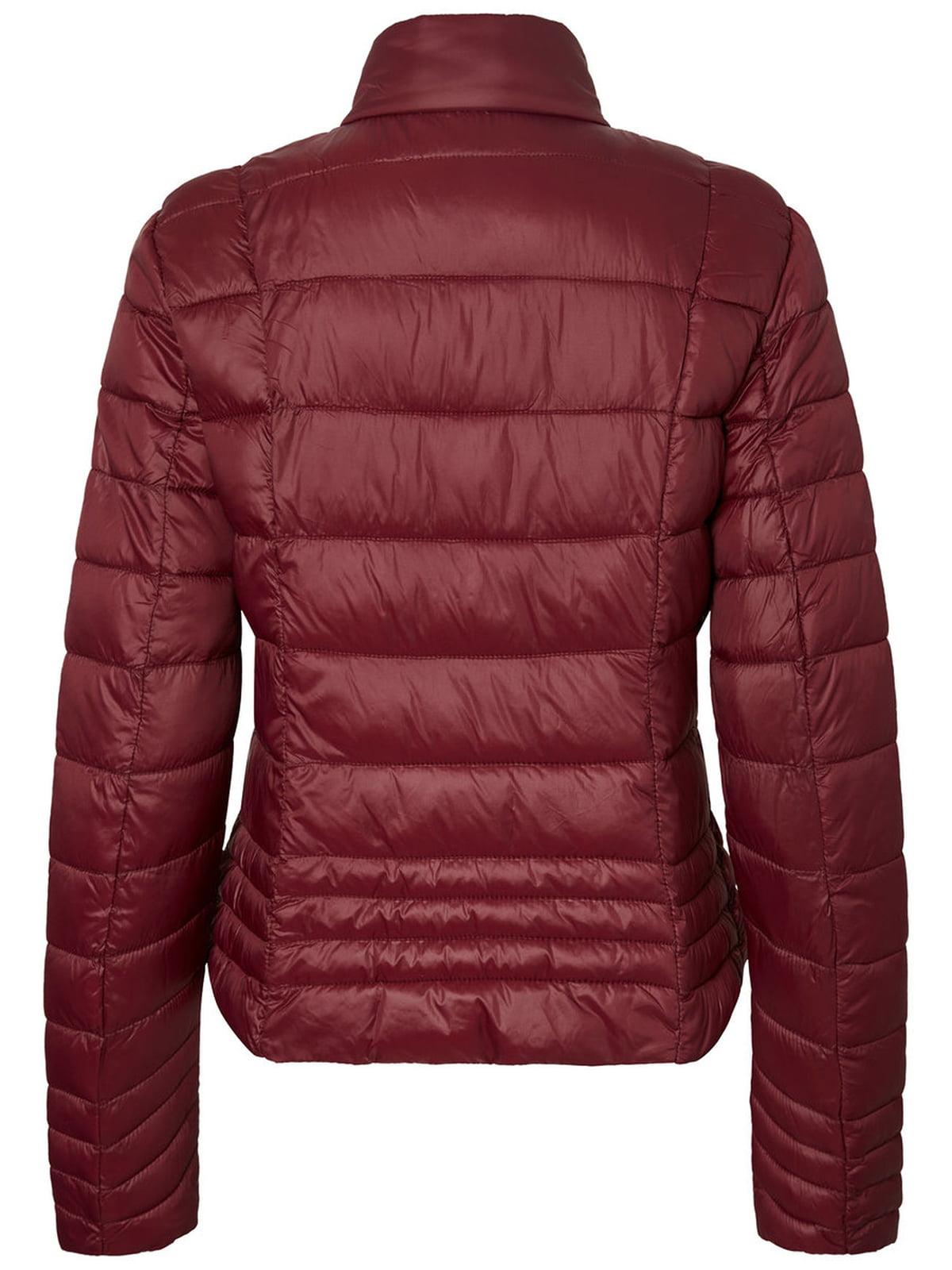 Куртка бордовая | 4472543 | фото 2