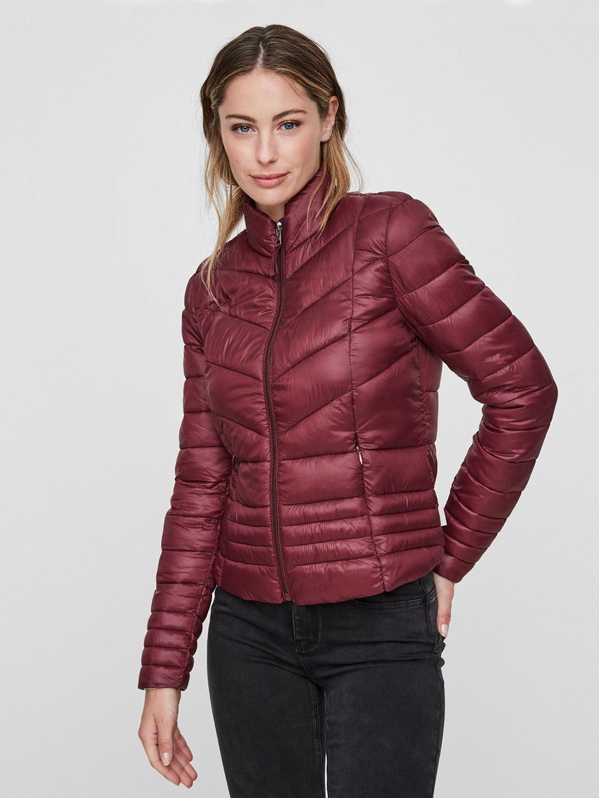 Куртка бордовая | 4472543 | фото 3