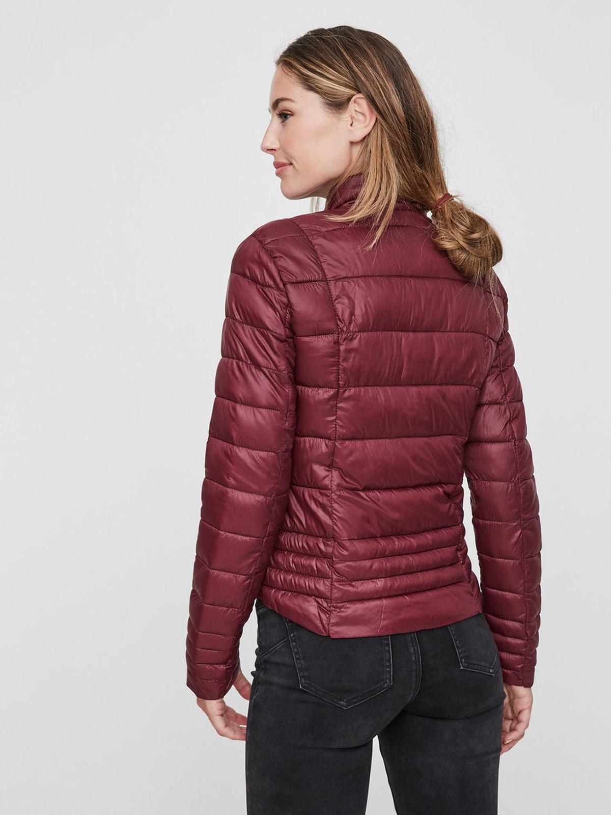 Куртка бордовая | 4472543 | фото 4