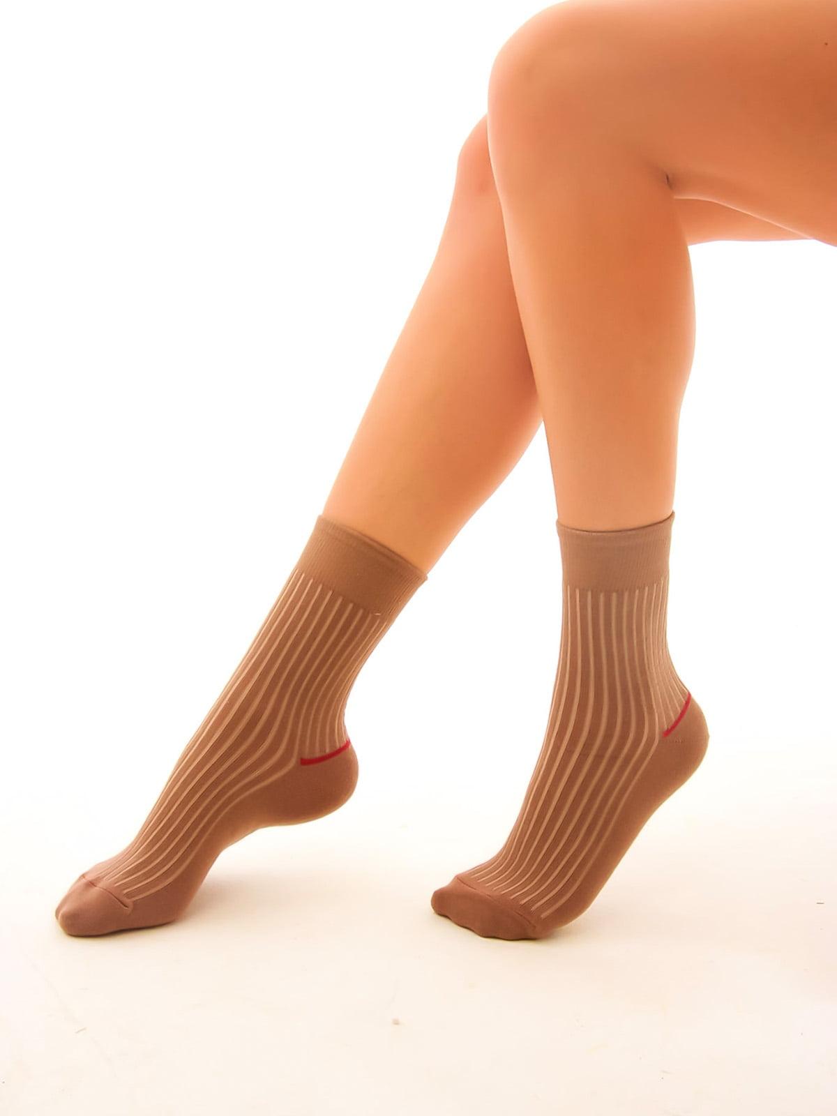 Шкарпетки кольору лате | 4546791