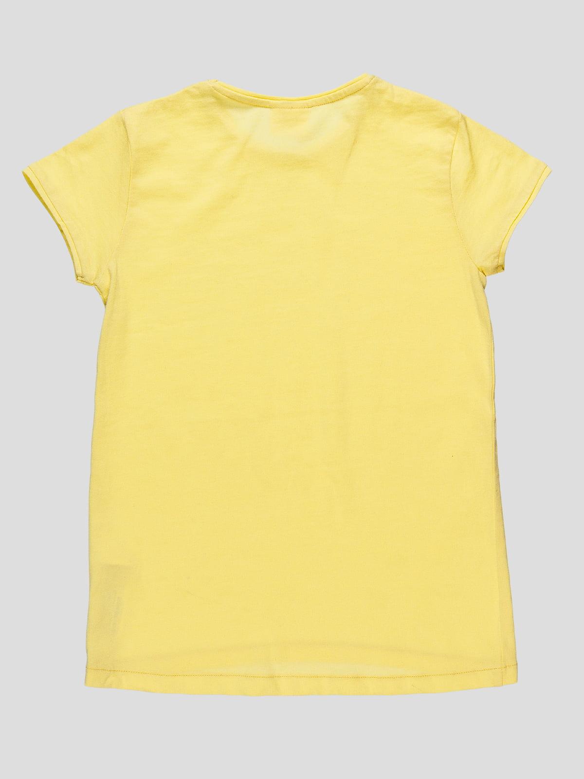 Футболка желтая | 4506854 | фото 2
