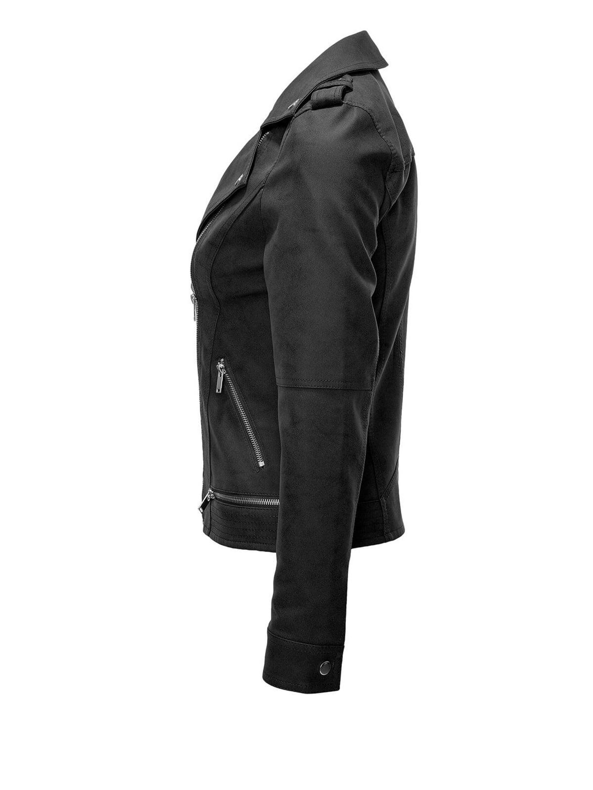 Куртка черная | 4547919 | фото 2