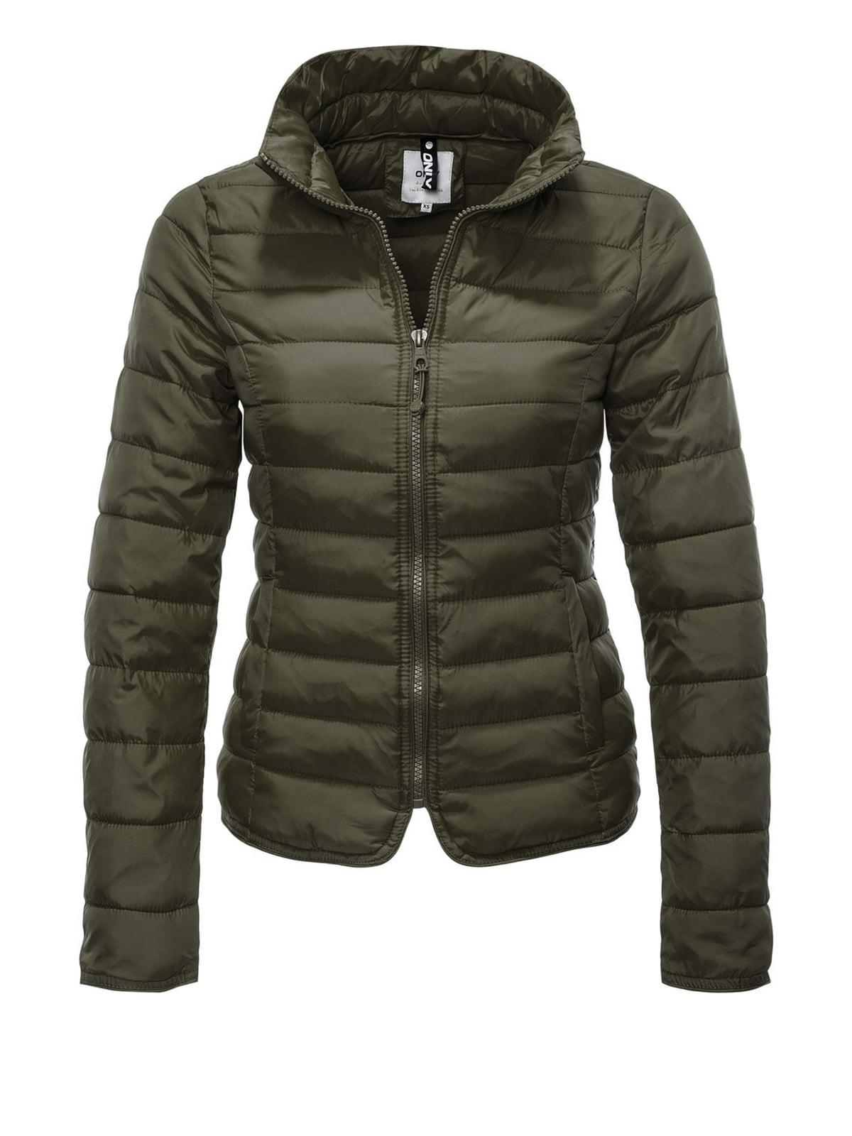 Куртка кольору хакі | 4547935