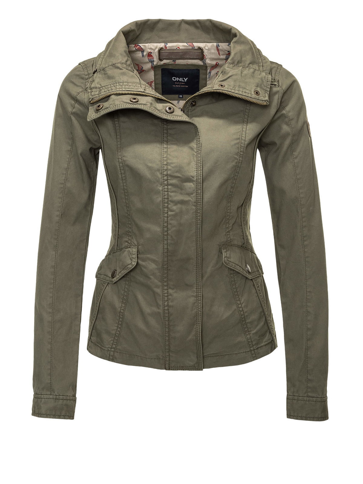Куртка цвета хаки | 4547939