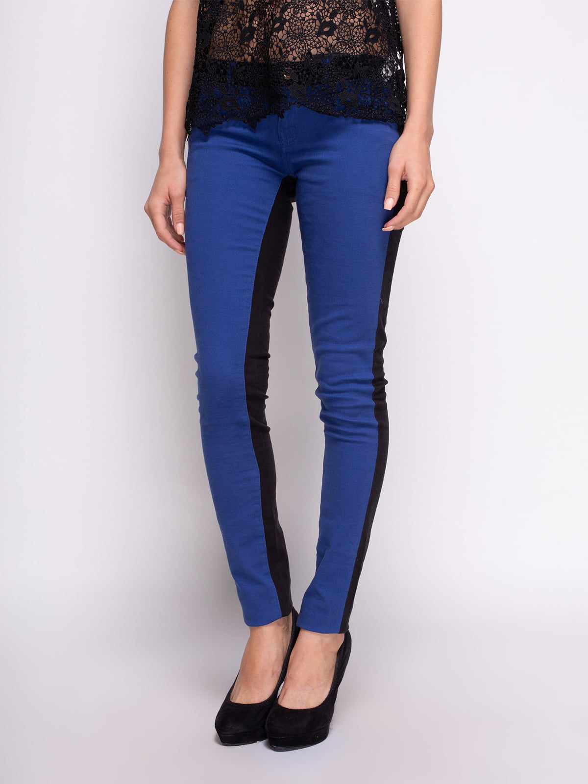 Штани синьо-чорні | 4509684