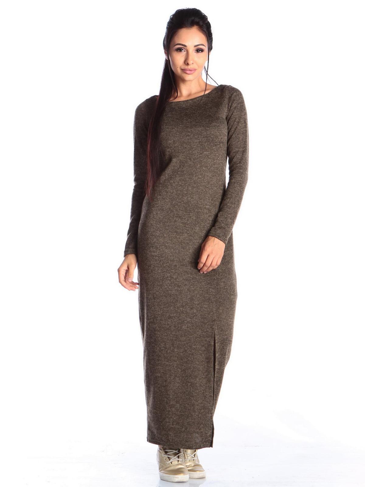 Сукня кольору хакі | 4549317